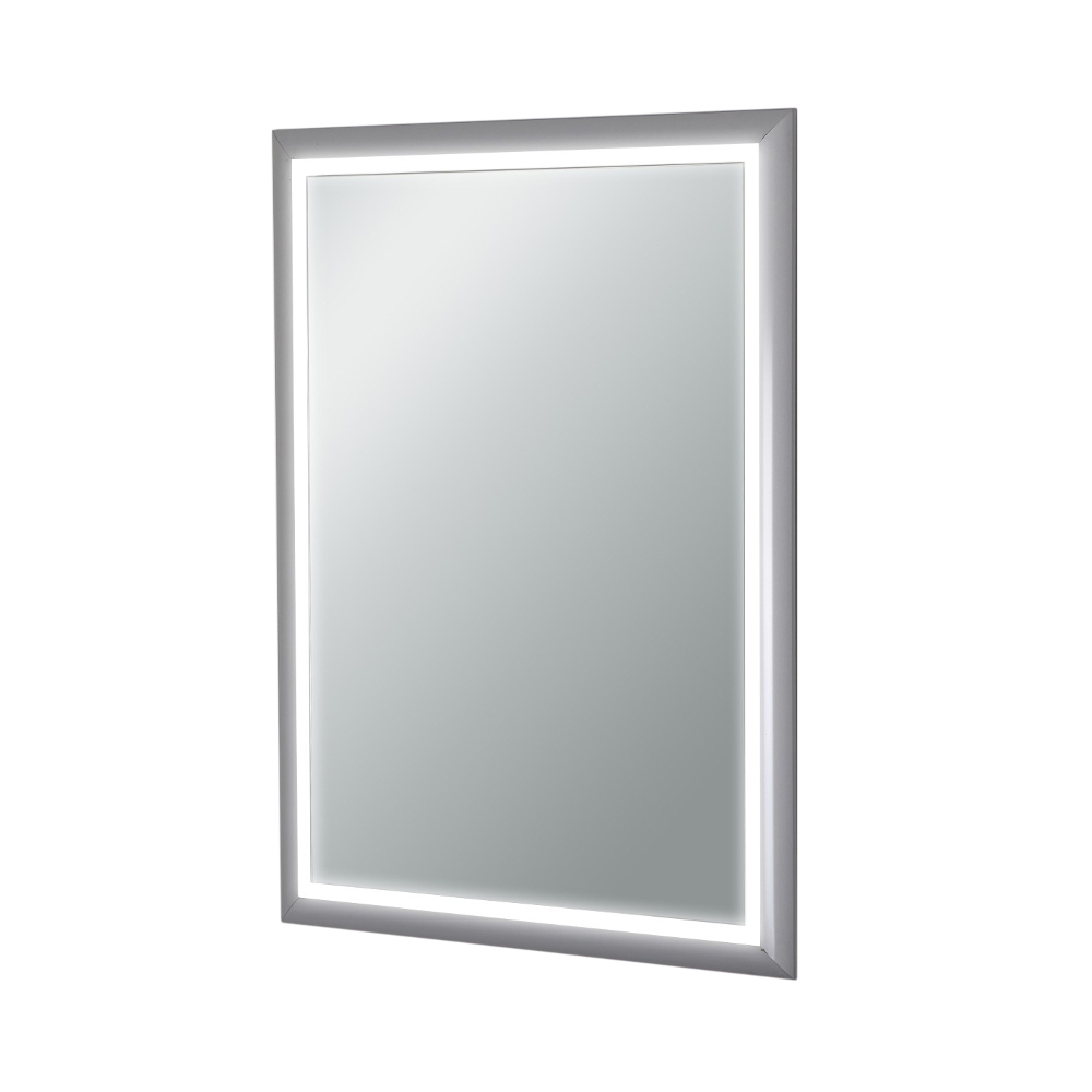 Backlit Wall Mirrors With Widely Used Eviva Evmr18 20x28 Led Sedona Wall Mounted Lighted Bathroom Vanity, Backlit  Led Mirror With Frame Lights (View 20 of 20)