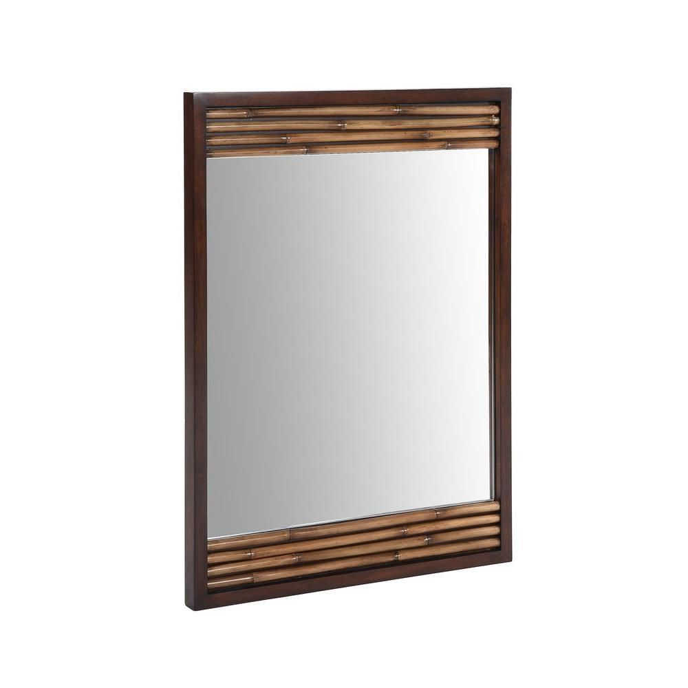 Bamboo Framed Wall Mirrors Regarding Most Recently Released Ryvyr Bambu 36 In. X 26 In (View 2 of 20)