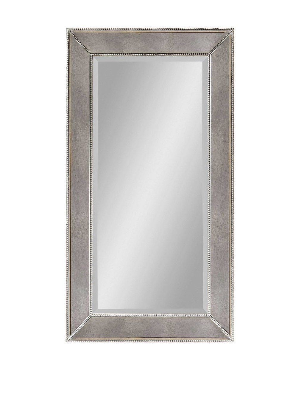 Bassett Mirror Beaded Wall Mirror, 48 Inch, Antique Mirror Regarding Best And Newest Bassett Wall Mirrors (View 17 of 20)
