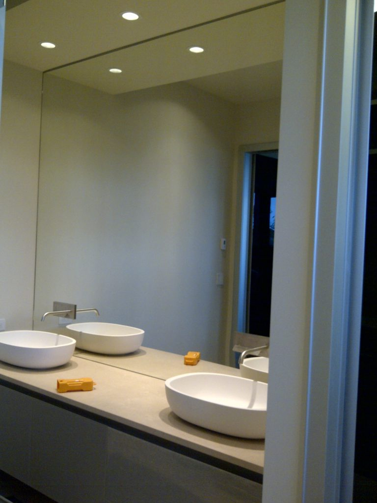 Bathroom The Best Of Bathroom Wall Mirror Shelves At Decorative Pertaining To Most Up To Date Bathroom Full Wall Mirrors (View 6 of 20)