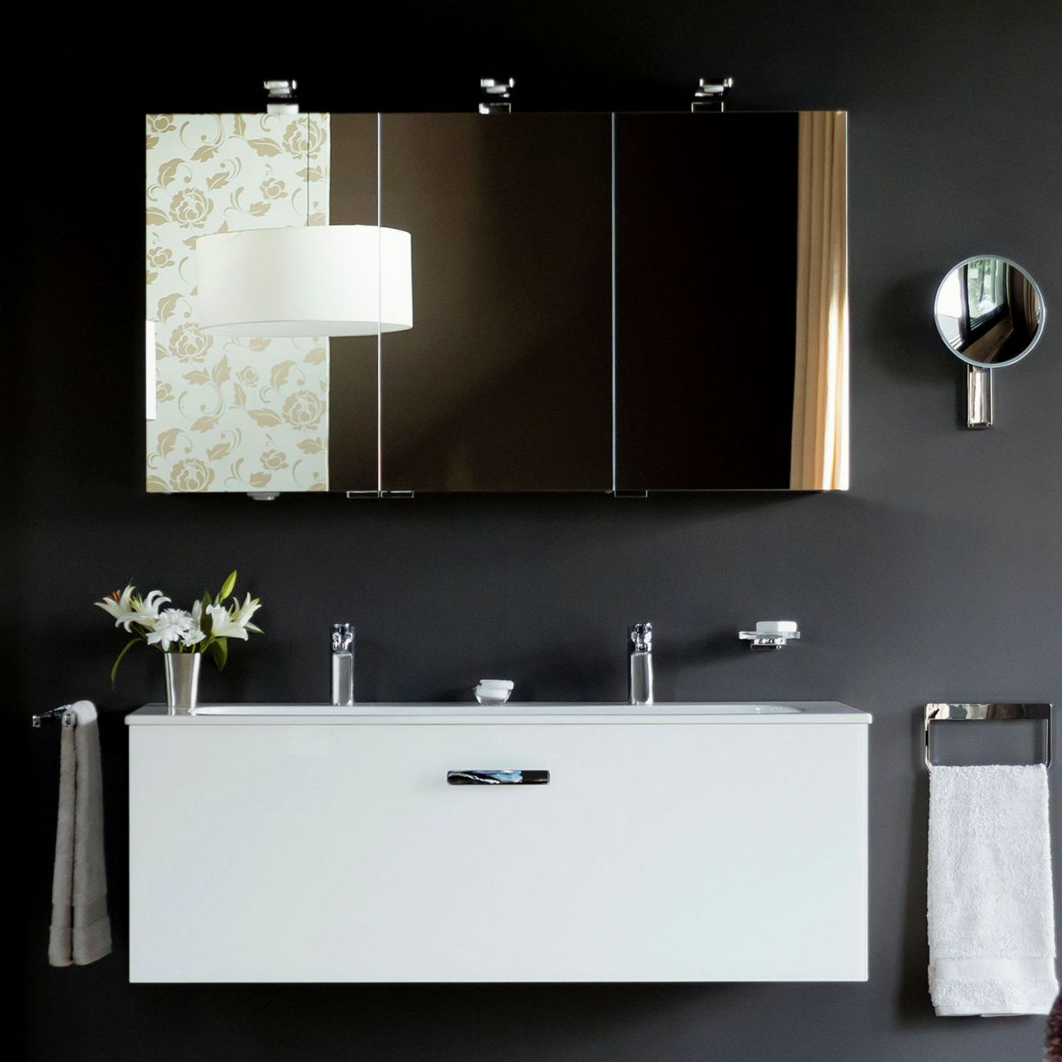 Bathroom Wall Mirror Cabinets With Regard To Fashionable Bathroom Cabinets, Also Available With Mirrors & Lights : Uk Bathrooms (View 2 of 20)