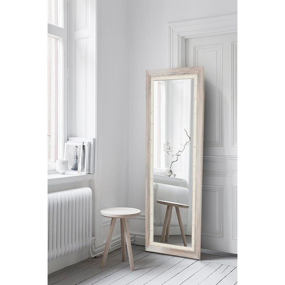 Beachy Wall Mirrors In Most Current Brandtworks Weathered Beach Full Length Wall Mirror Bm23Thin – The (View 2 of 20)