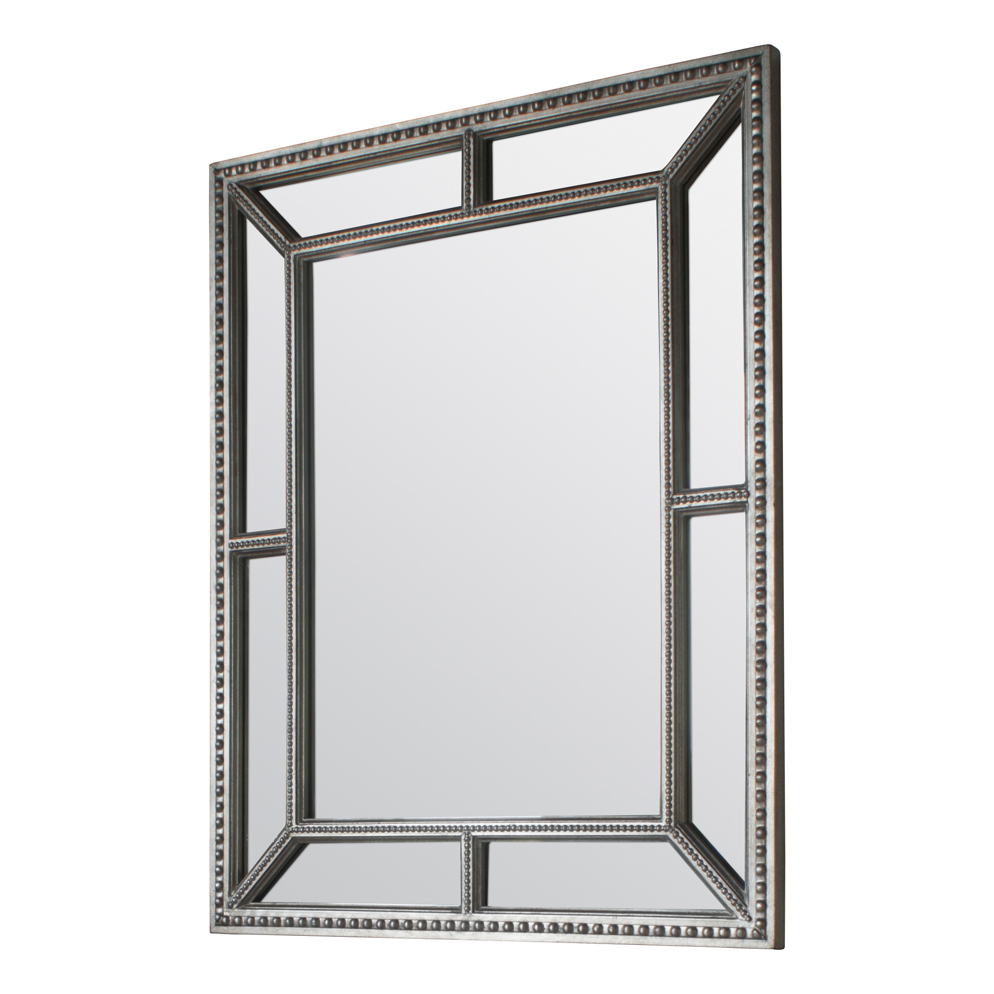 Beaded Wall Mirrors Pertaining To Fashionable Lesly Beaded Wall Mirror (View 6 of 20)