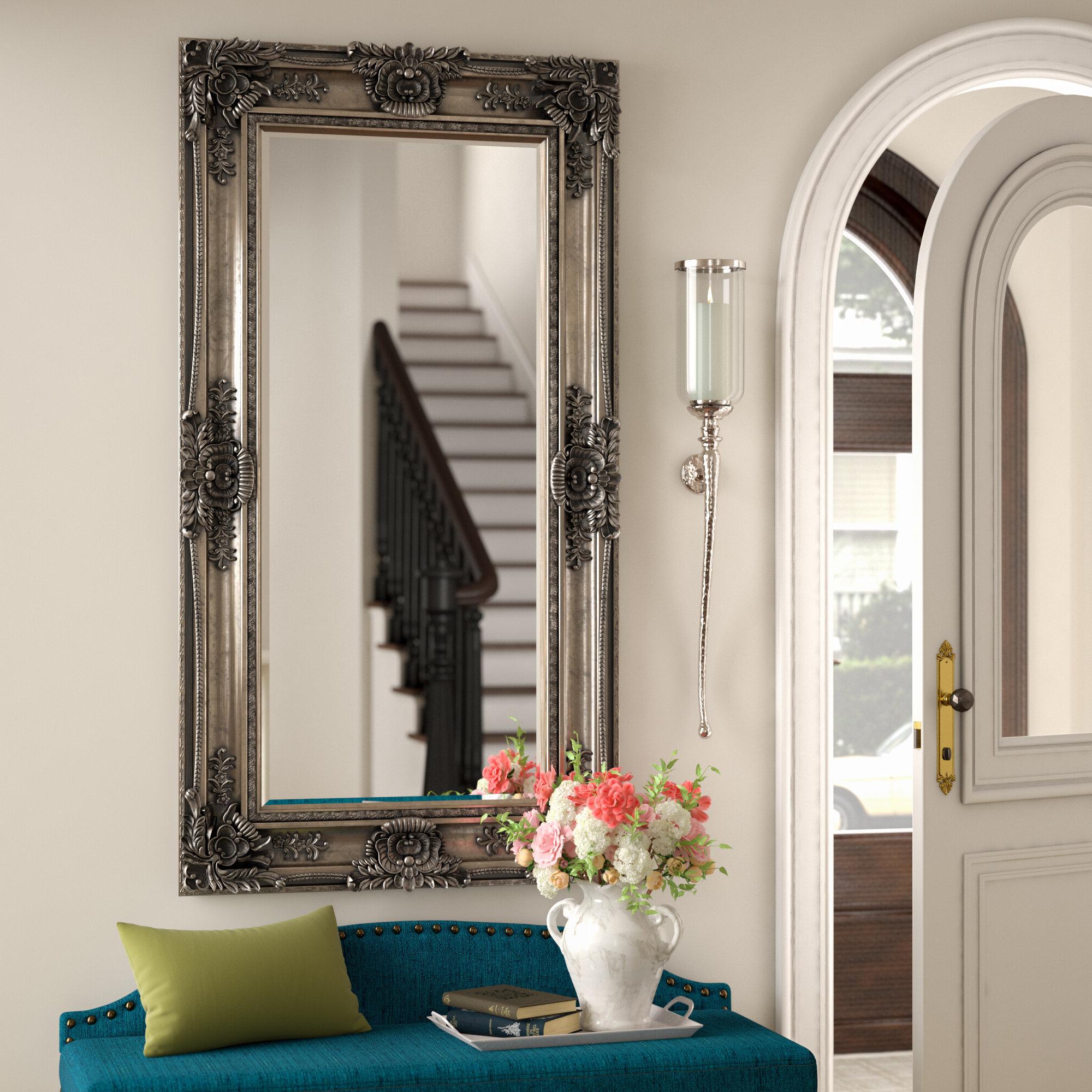 Beaston Leaner Full Length Mirror Intended For Favorite Antique Full Length Wall Mirrors (View 11 of 20)
