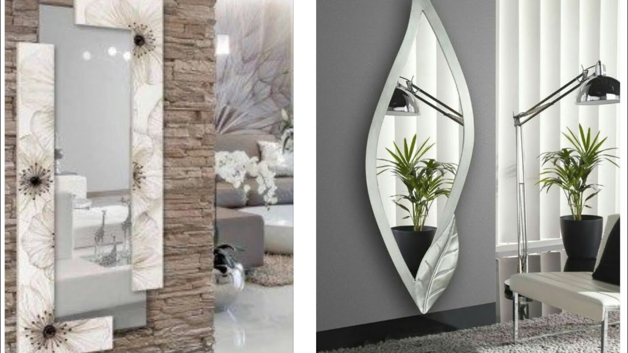 Beautiful Modern Wall Mirror For Home Decor Throughout Fashionable Beautiful Wall Mirrors (View 20 of 20)