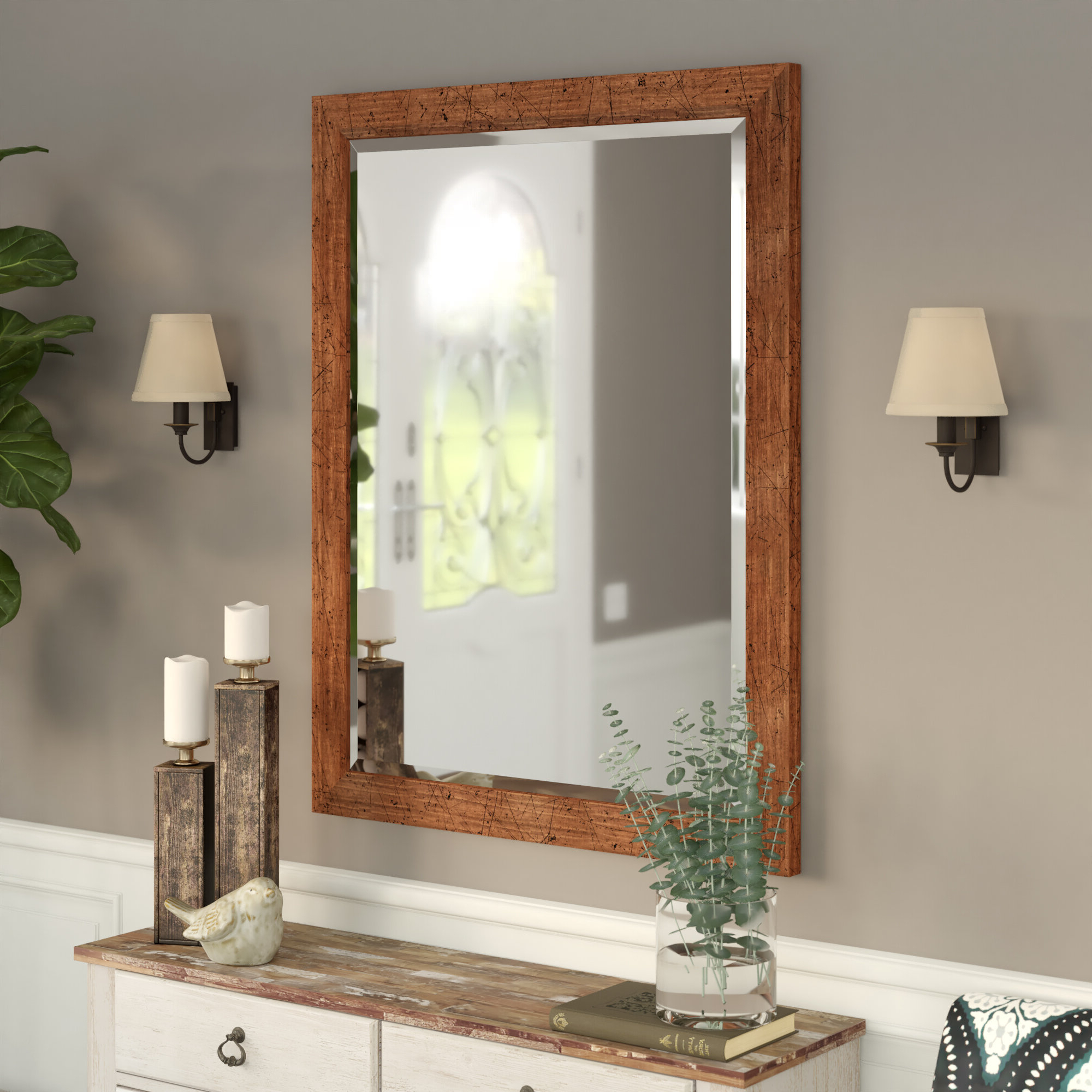 Bentley Modern & Contemporary Wall Mirror Intended For 2019 Modern Wall Mirrors (View 20 of 20)