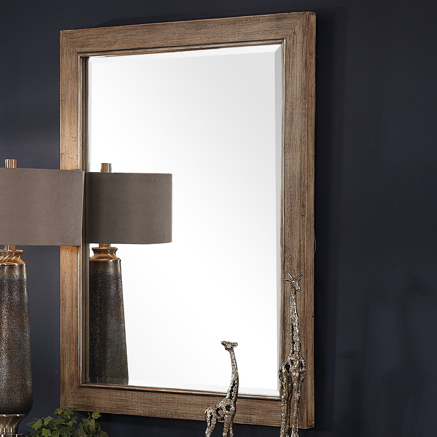 Berinhard Accent Mirrors Inside Widely Used Creola Farmhouse Beveled Accent Mirror (View 12 of 20)