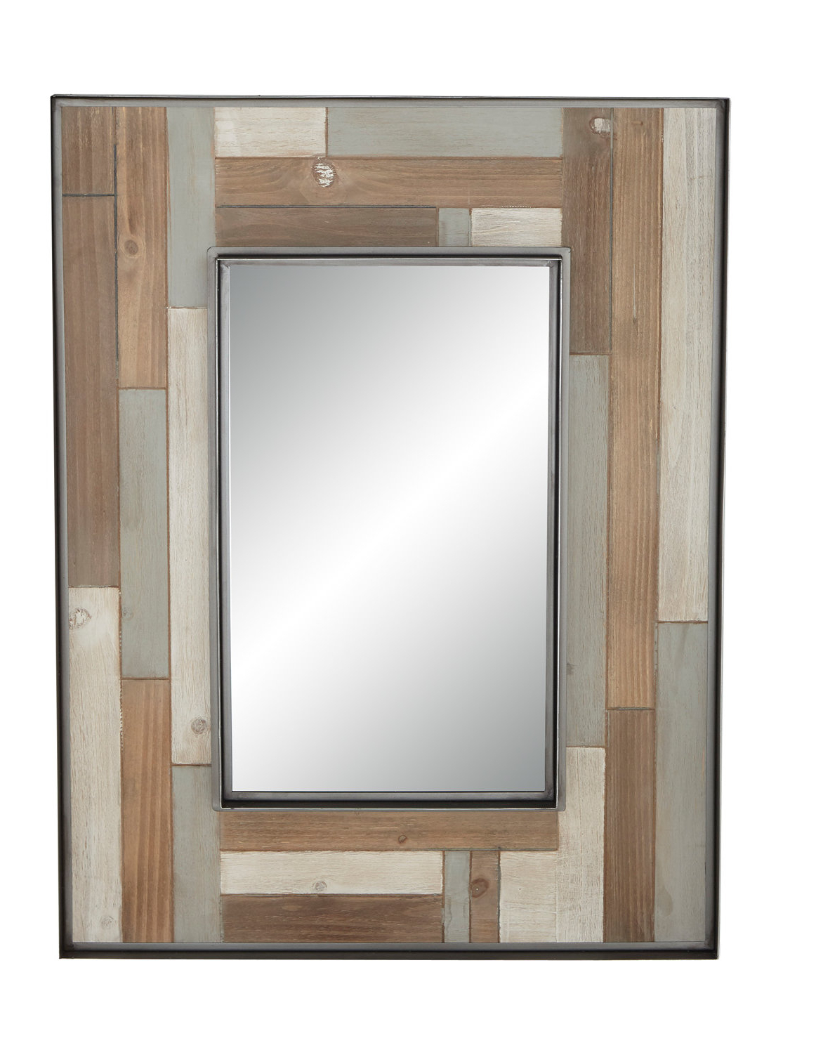 Berinhard Accent Mirrors With Widely Used Williamstown Rustic Rectangular Accent Mirror (View 11 of 20)
