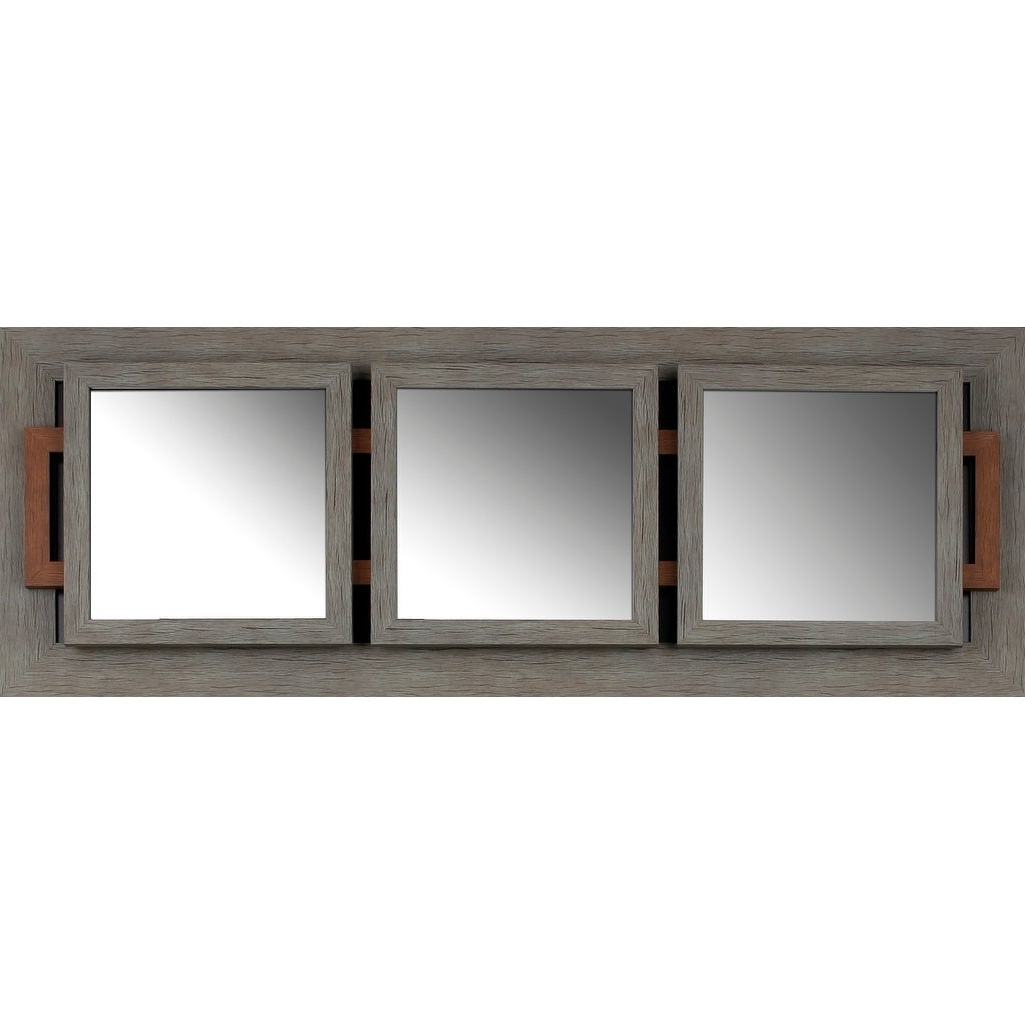 Best And Newest 19X51 Triple Wall Mirrormirrorize Canada – Grey – 19X51X2 Throughout Triple Wall Mirrors (View 2 of 20)