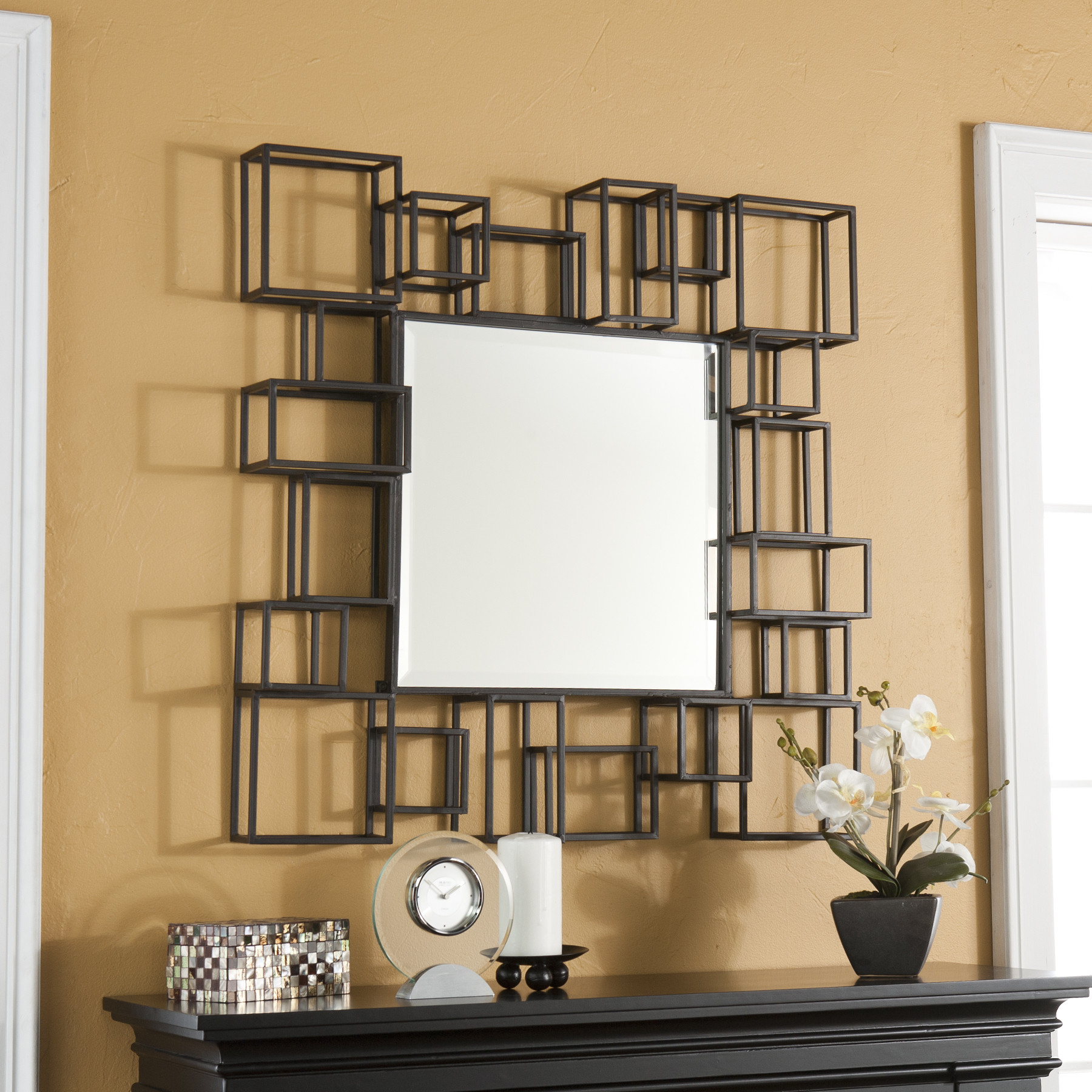Best And Newest 23 Fancy Decorative Mirror Designs With Regard To Fancy Wall Mirrors (View 7 of 20)