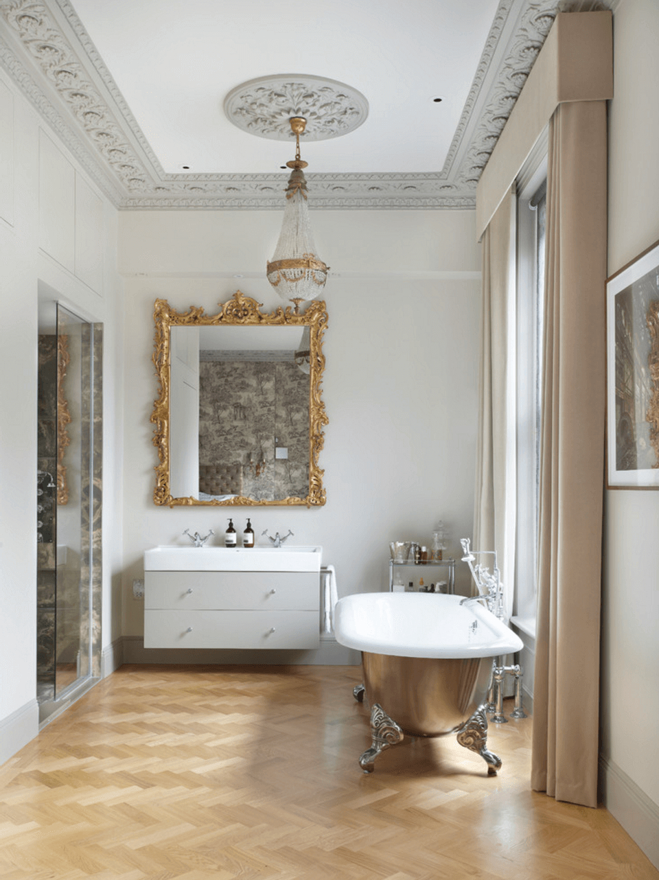 Best And Newest 38 Bathroom Mirror Ideas To Reflect Your Style – Freshome With Small Bathroom Wall Mirrors (View 11 of 20)