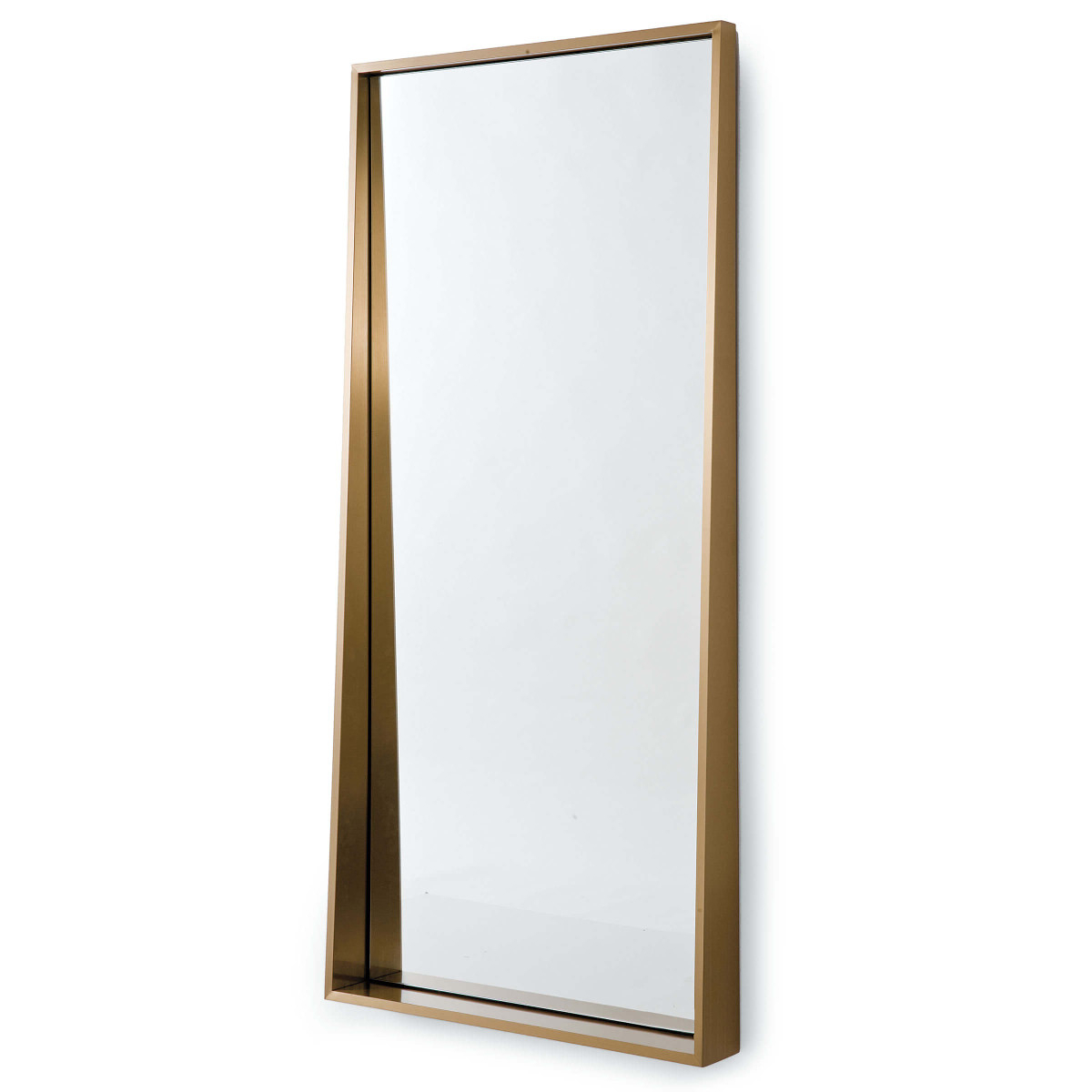 Best And Newest Angled Wall Mirrors In Brass Angled Wall Mirror (View 6 of 20)
