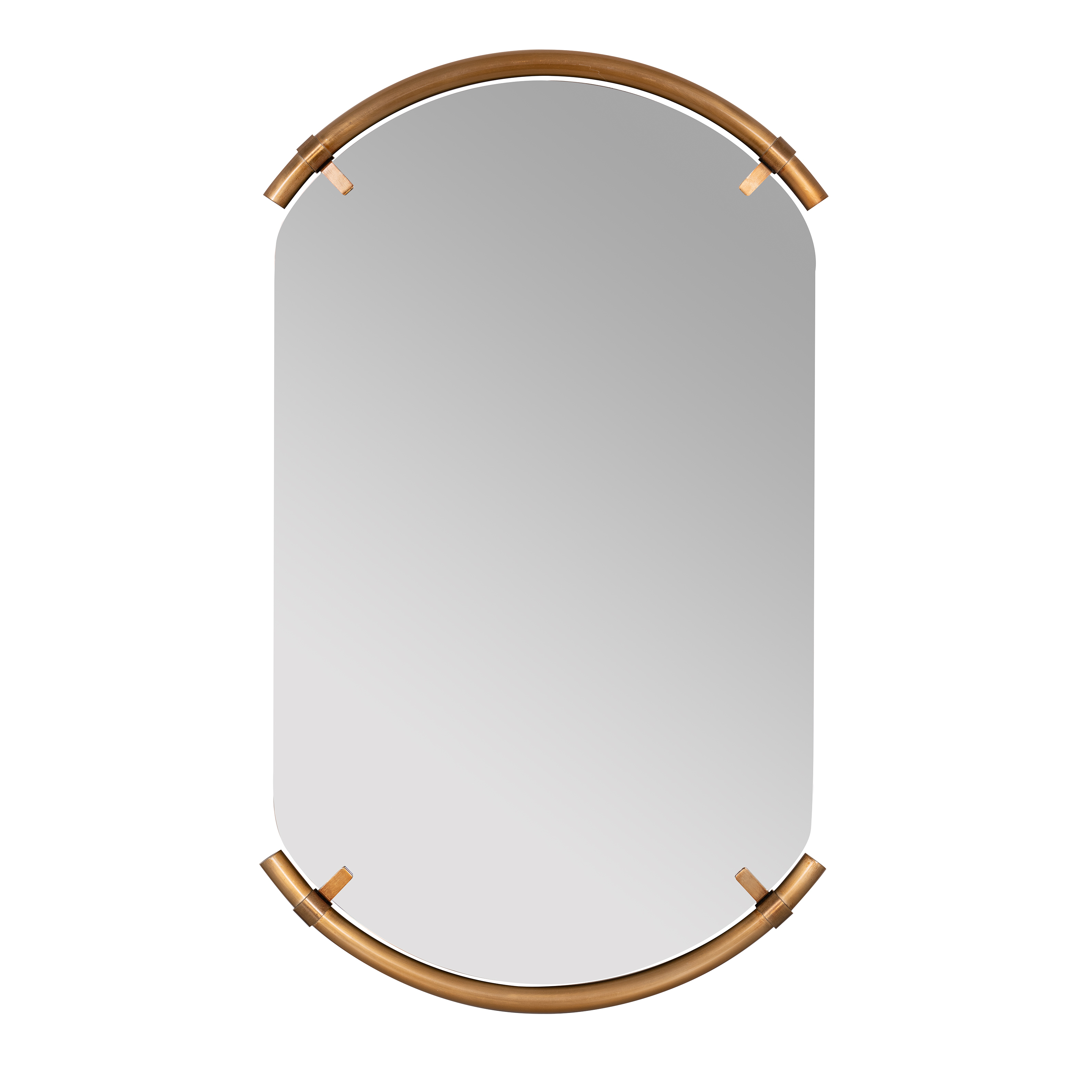 Best And Newest Arch Top Vertical Wall Mirrors Regarding Arched Bronze Phoebe Wall Mirror (View 7 of 20)