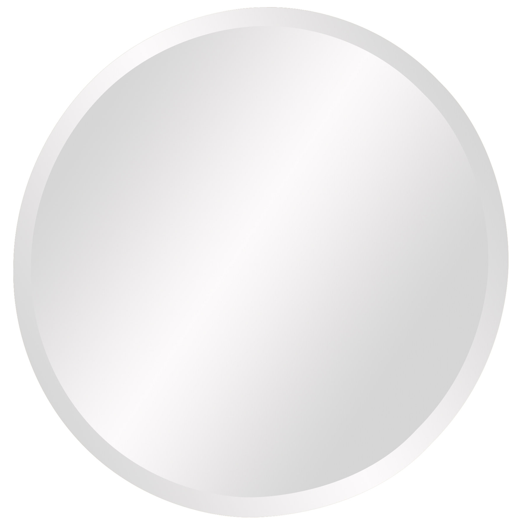 Best And Newest Celeste Frameless Round Wall Mirror Within Celeste Frameless Round Wall Mirrors (View 2 of 20)