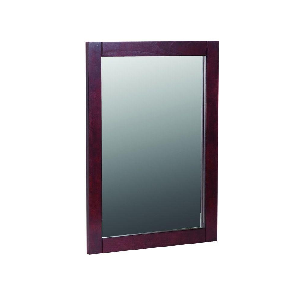 Best And Newest Cherry Wall Mirrors In Amazon: St. Paul Sydney 20 In. W X 27 In (View 16 of 20)