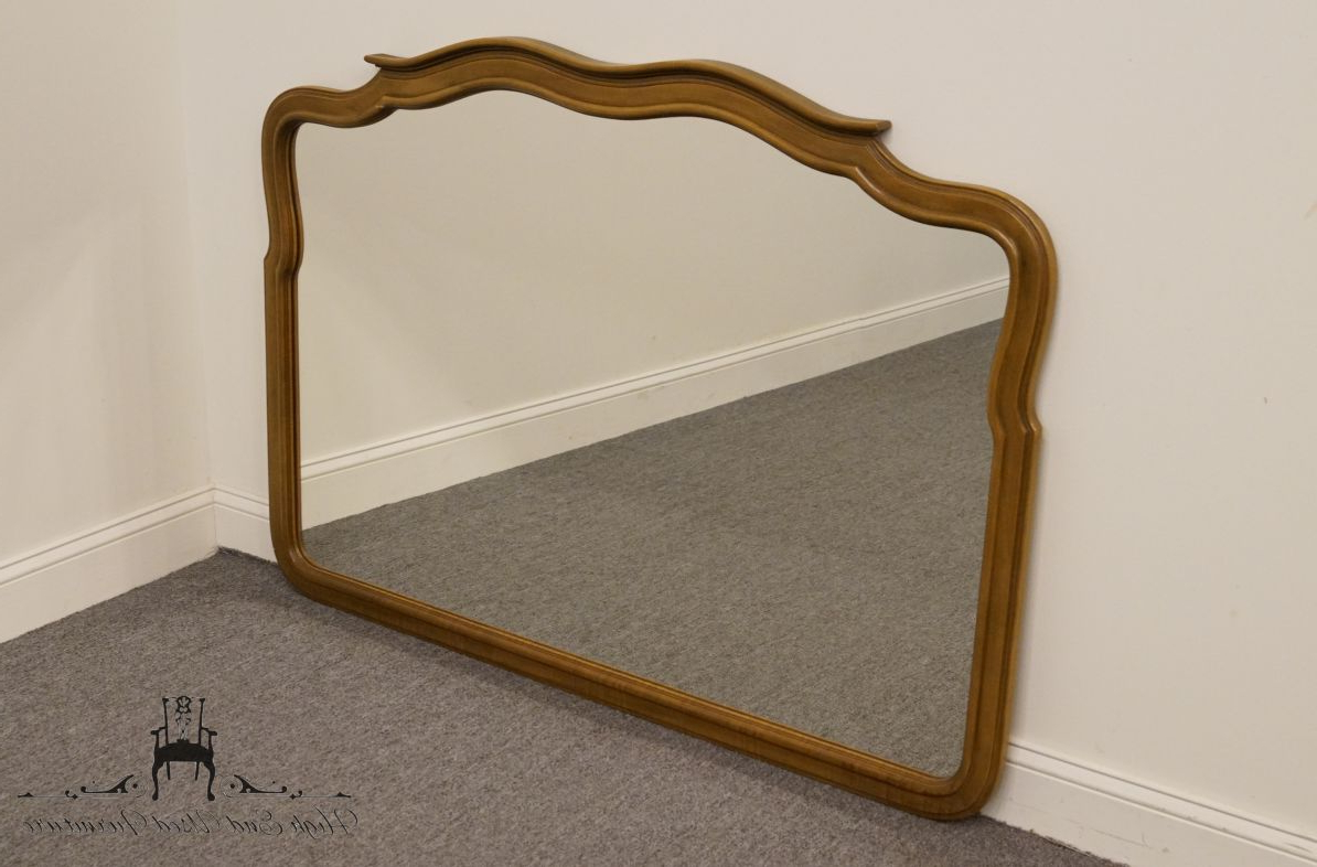 "Best And Newest Details About High End Country French Regency Style 54x39"" Dresser / Wall Mirror 302 230 For High End Wall Mirrors (View 15 of 20)"