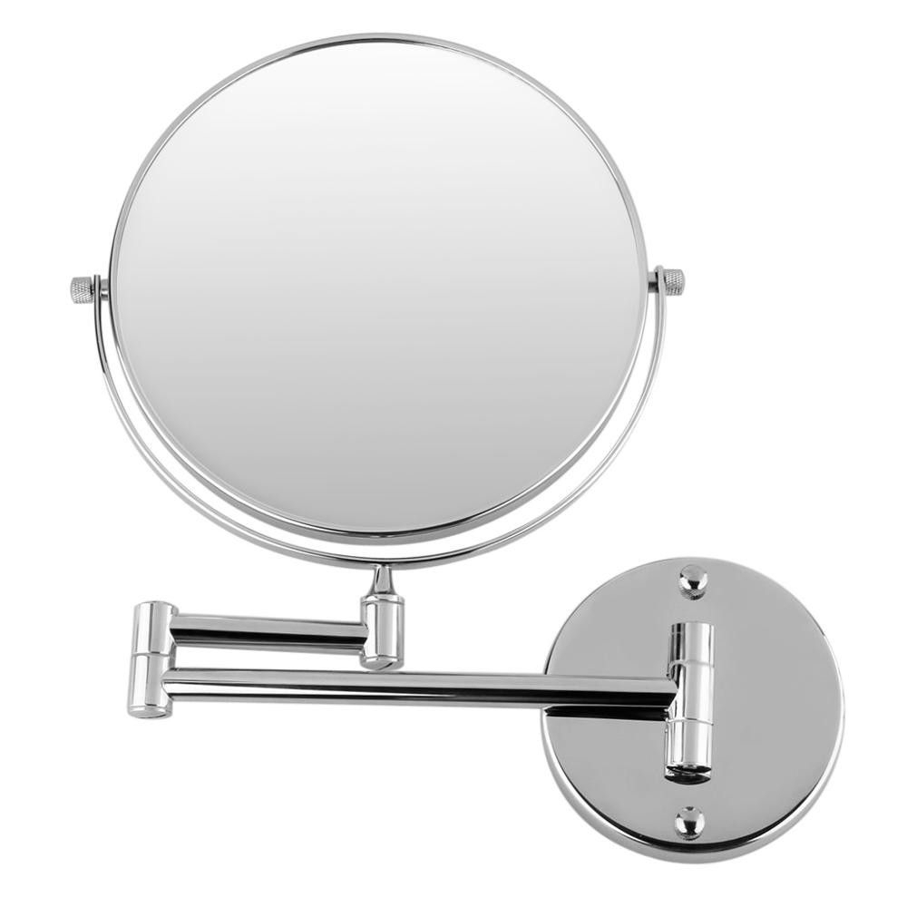 Best And Newest Extending Wall Mirrors For 8 Inch Wall Mounted Extending Folding Double Side 10X Magnification (View 6 of 20)