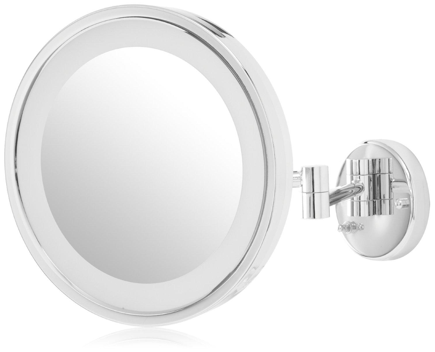 Best And Newest Extension Arm Wall Mirrors Throughout Jerdon Hl1016Cl  (View 6 of 20)