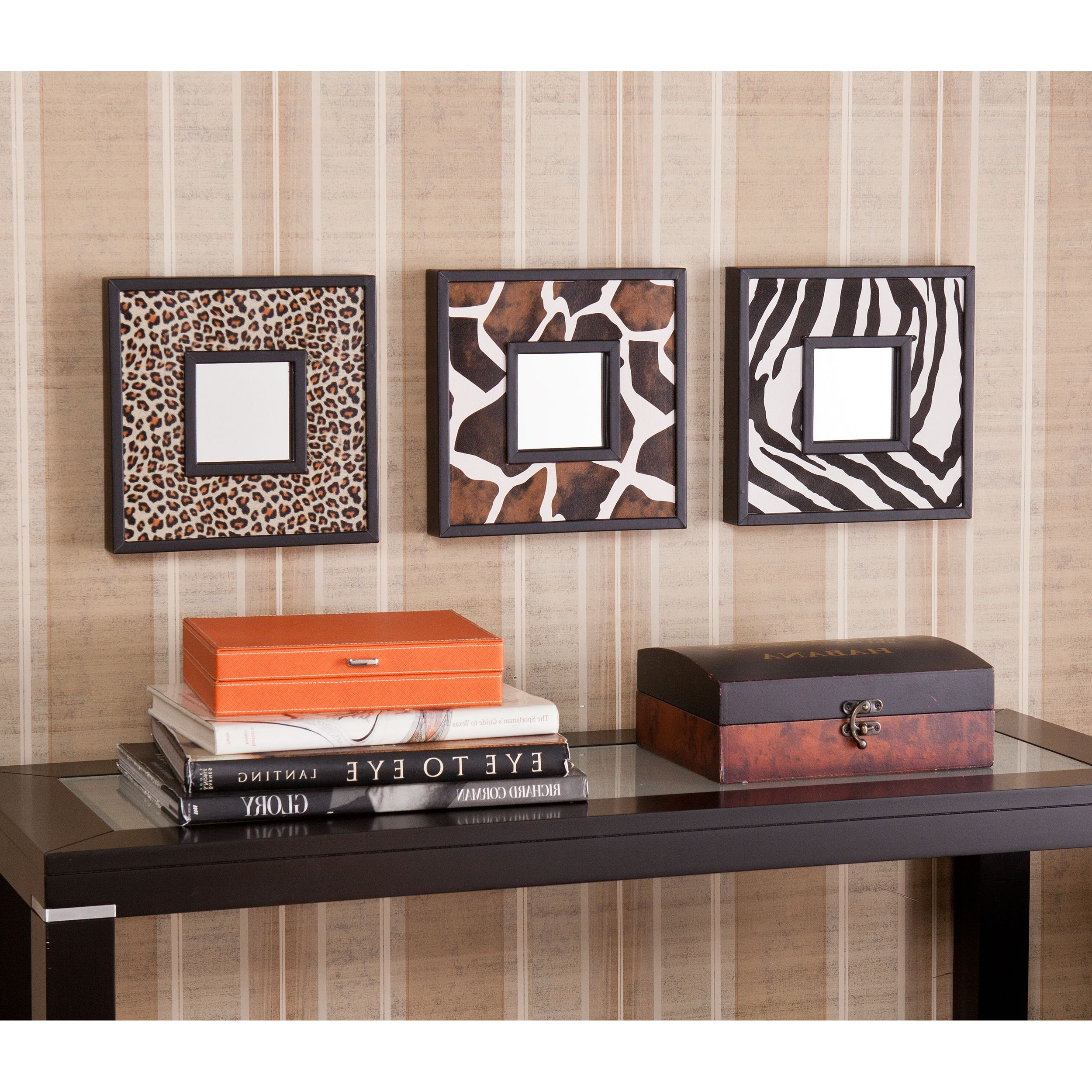 Best And Newest Fashionable Interiors: Leopard + Zebra + Giraffe Mirrors (View 4 of 20)