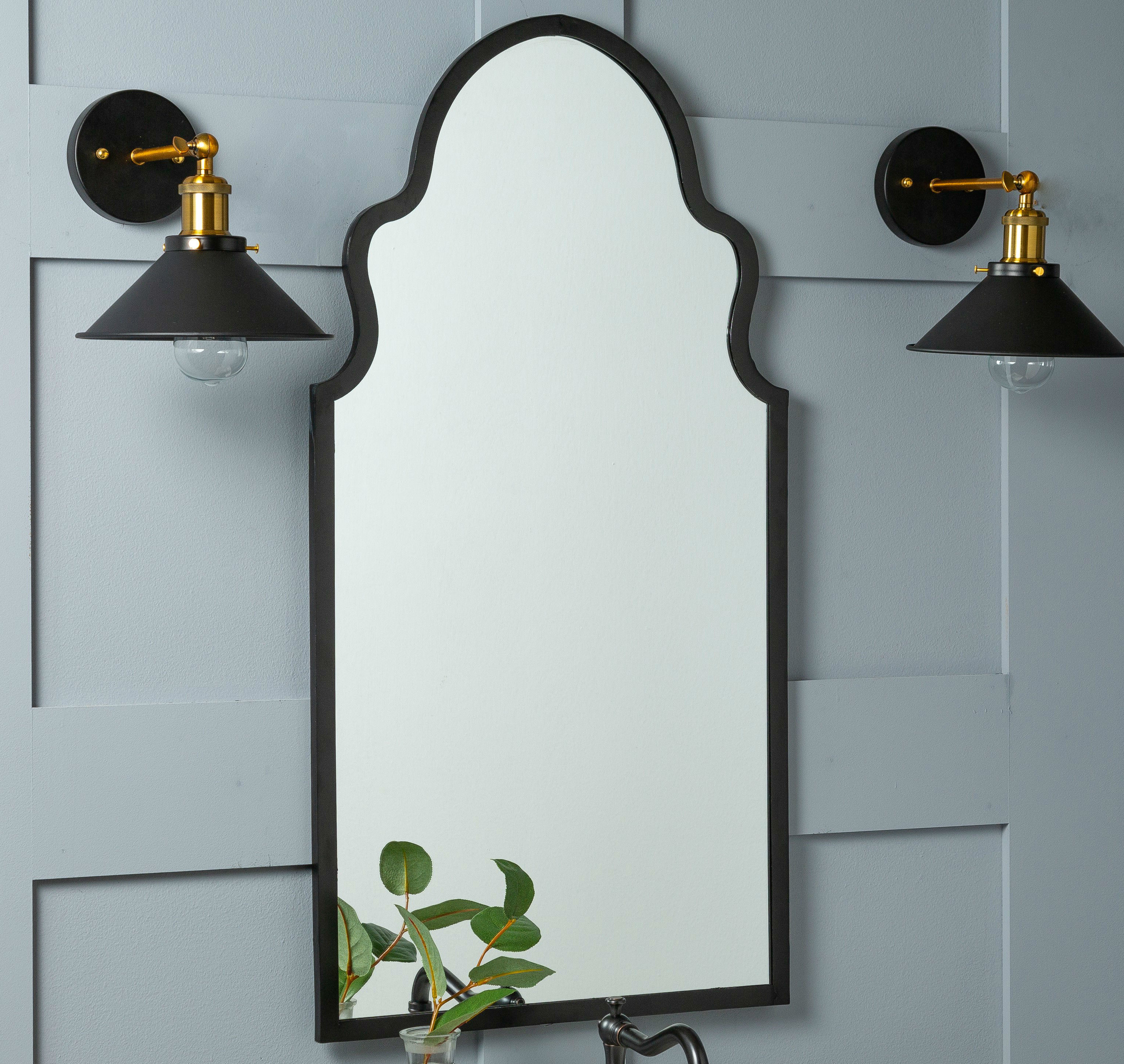Best And Newest Fifi Contemporary Arch Wall Mirrors With Cooper Classics Lincoln Wall Mirror (View 3 of 20)