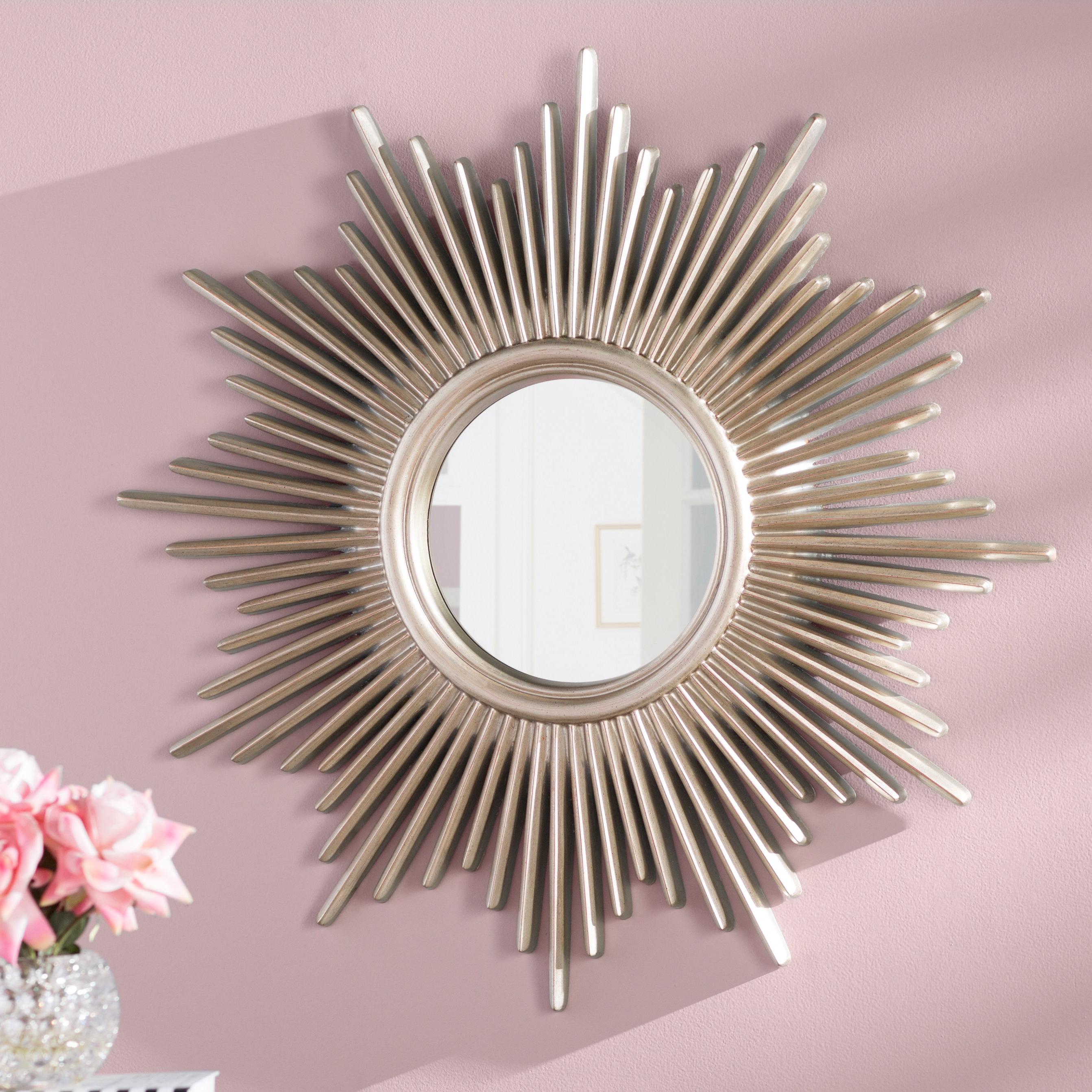 Best And Newest Josephson Starburst Glam Beveled Accent Wall Mirror Within Josephson Starburst Glam Beveled Accent Wall Mirrors (View 2 of 20)