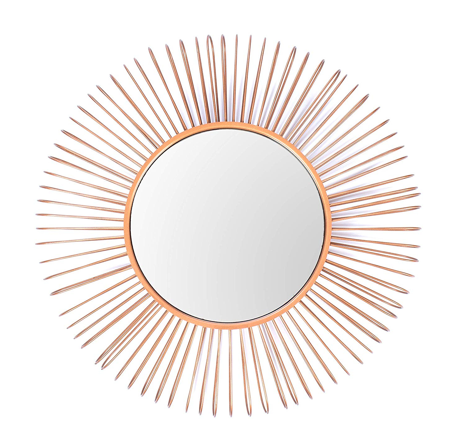 Best And Newest Large Red Wall Mirrors Within Amazon: Red Fig Home Wall Mirror Décor – Decorative Copper (View 8 of 20)