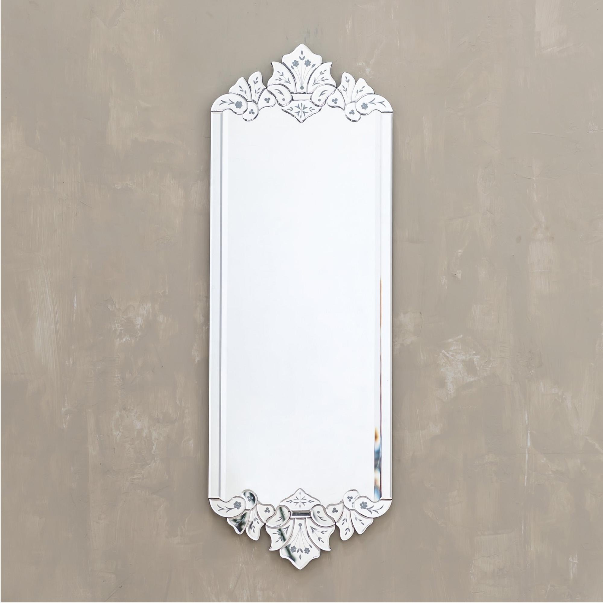 Best And Newest Modern Rectangular Wall Mirrors For Venetian Modern Rectangular Mirror (View 15 of 20)