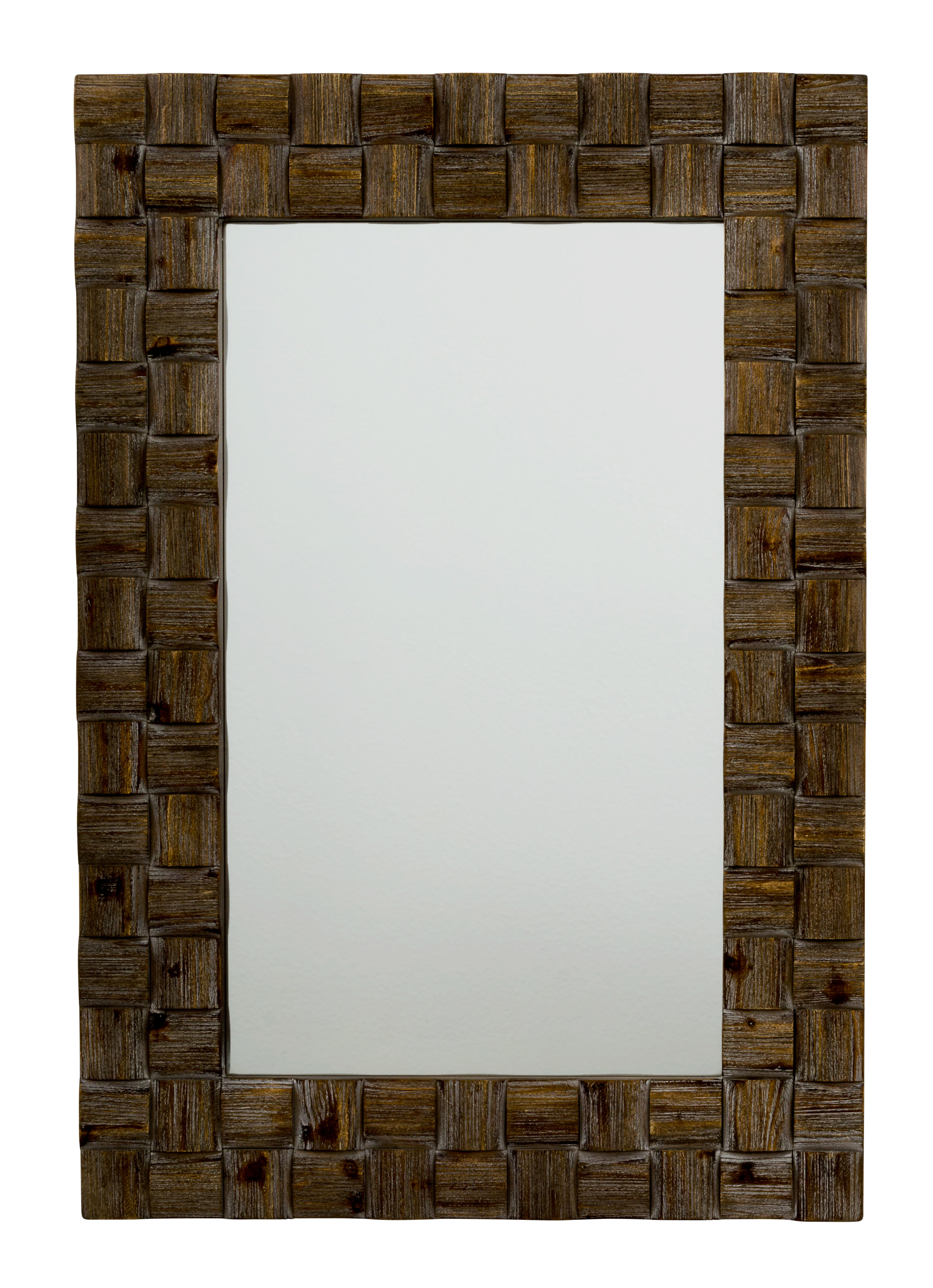 Best And Newest Motour Accent Mirror Within Peetz Modern Rustic Accent Mirrors (View 17 of 20)