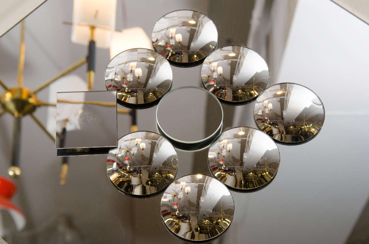 Best And Newest Pop Art Diamond Shaped Sculptural Wall Mirror With Small Convex Mirrors Throughout Convex Wall Mirrors (View 15 of 20)