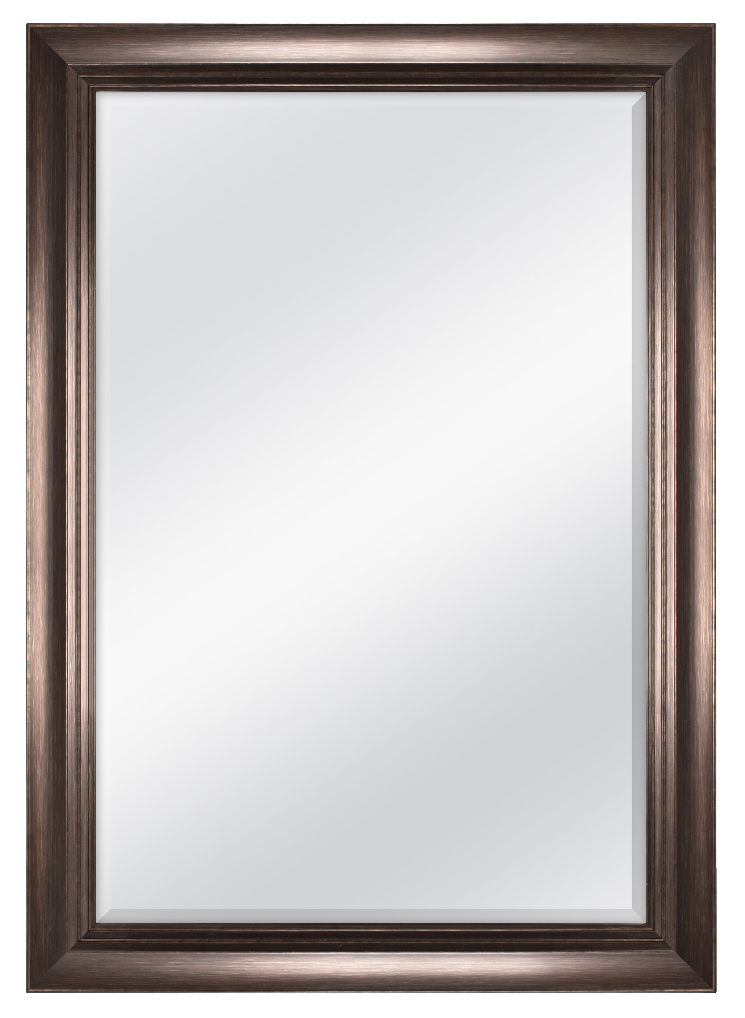 Best And Newest Radcliffe Beveled Wall Mirror With Dedrick Decorative Framed Modern And Contemporary Wall Mirrors (View 3 of 20)
