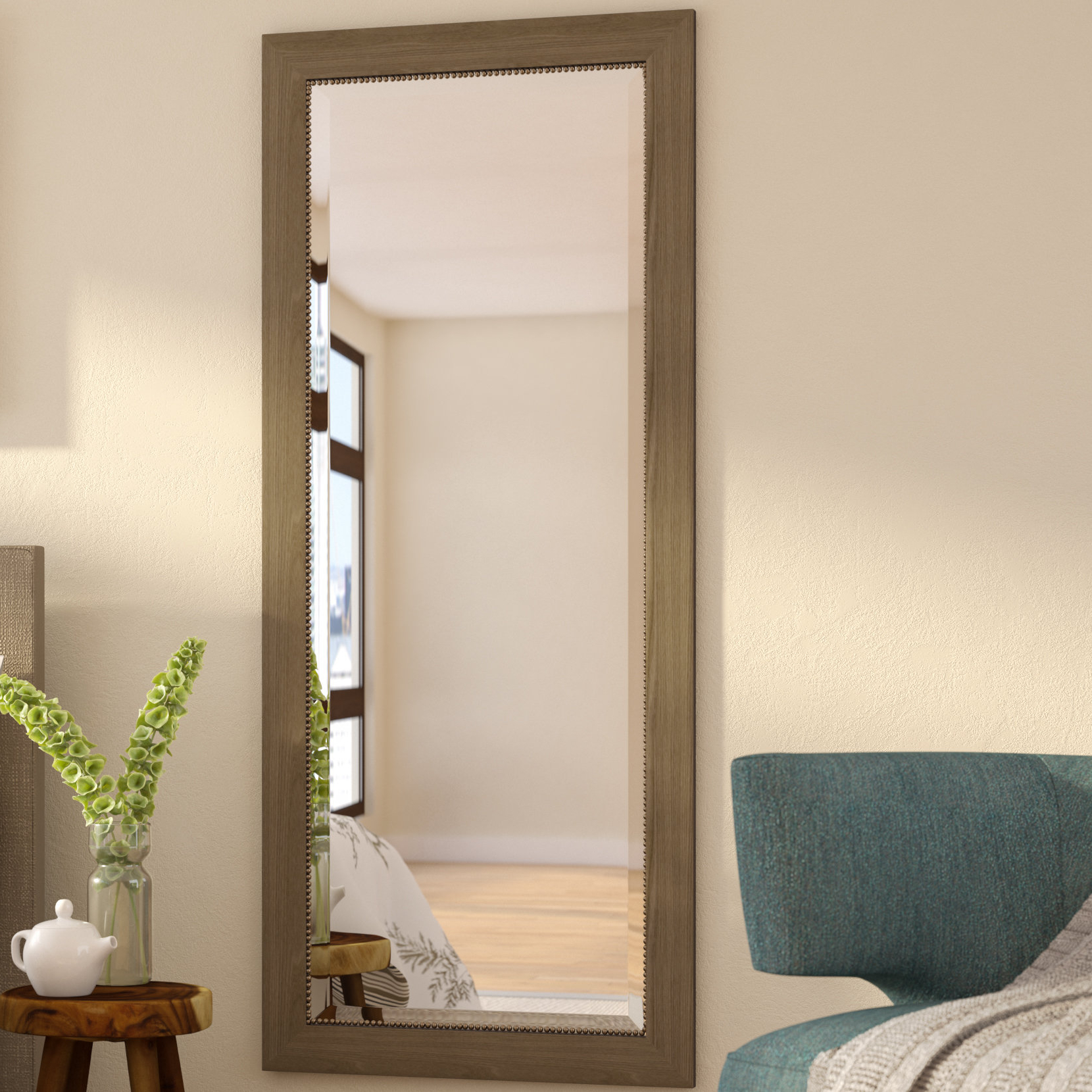 Best And Newest Rectangle Beveled Wall Mirror Within Beveled Wall Mirrors (View 11 of 20)