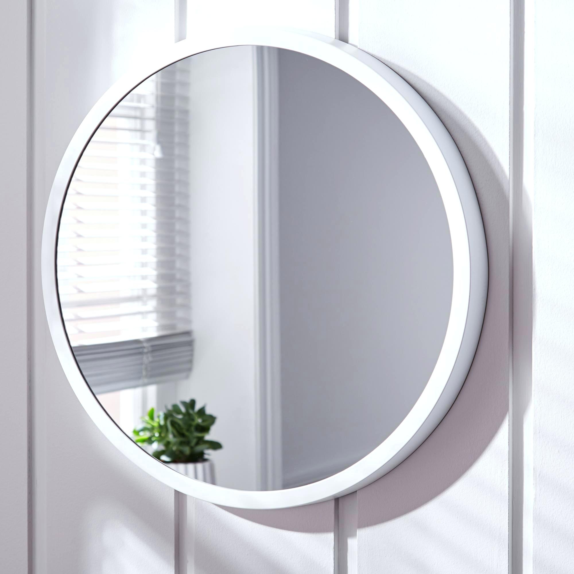Best And Newest Round White Wall Mirrors Throughout White Wall Mirror – Myheartburn (View 3 of 20)