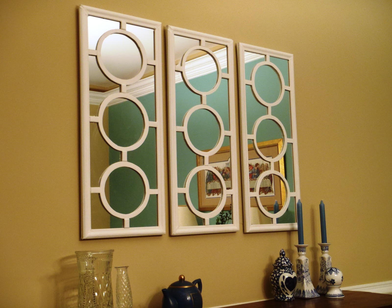 Best And Newest Small Decorative Wall Mirror Sets Pertaining To Mirror Metal Enchanting Com Accent Idea Inspiring WordPress (View 3 of 20)