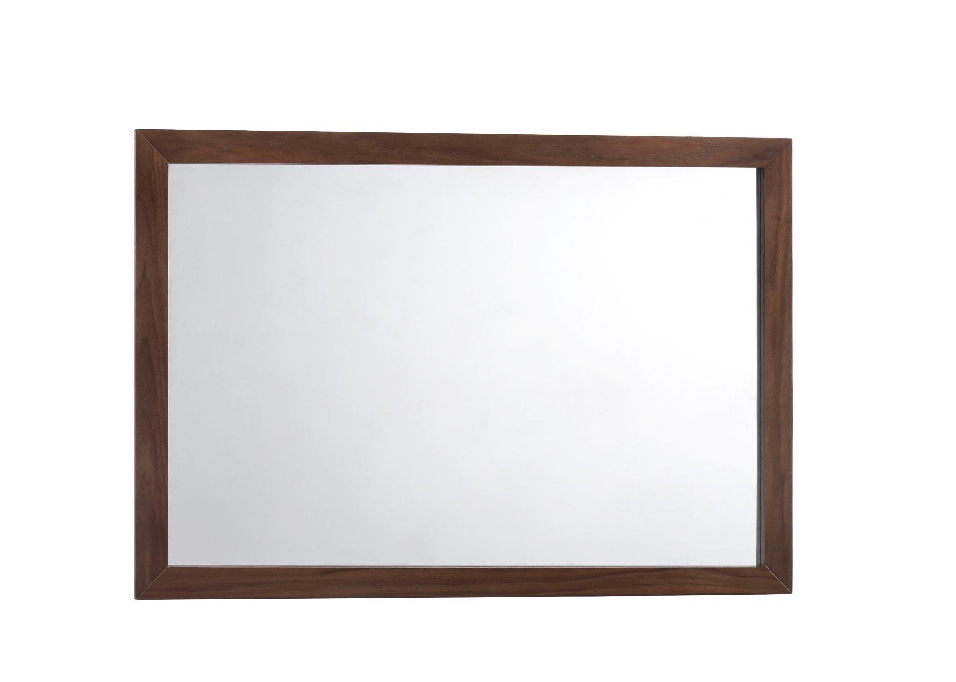 Best And Newest Vassallo Beaded Bronze Beveled Wall Mirrors Within Corrigan Studio Drumnacole Mid Century Bathroom/vanity Mirror (View 6 of 20)