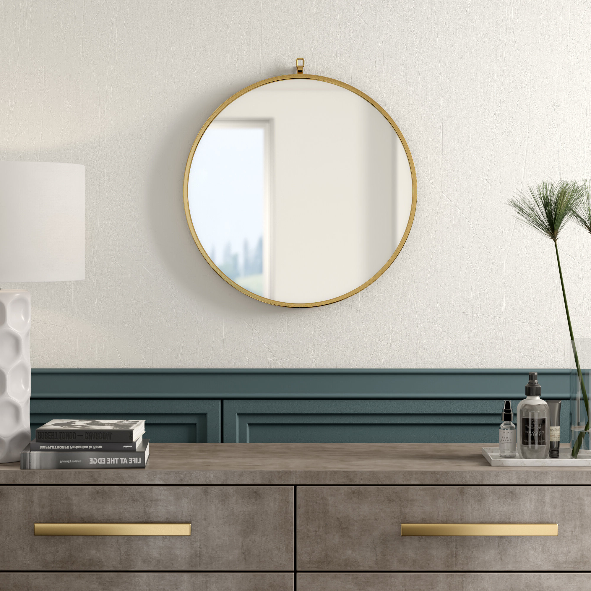 Best And Newest Yedinak Modern And Contemporary Accent Mirror Within Yedinak Modern Distressed Accent Mirrors (View 2 of 20)