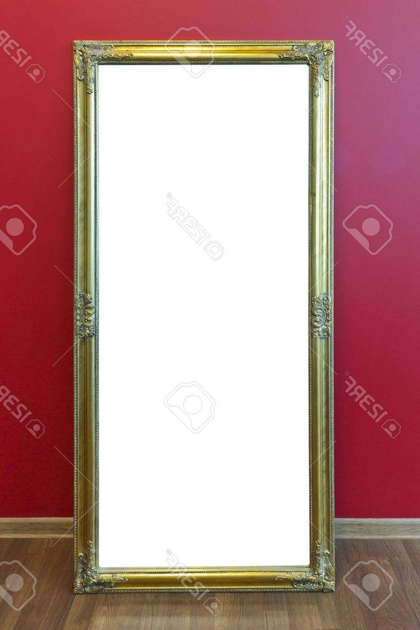 Best And Newest Yellow Plastic Mass Production Frame From Large Mirror Stand. (View 14 of 20)