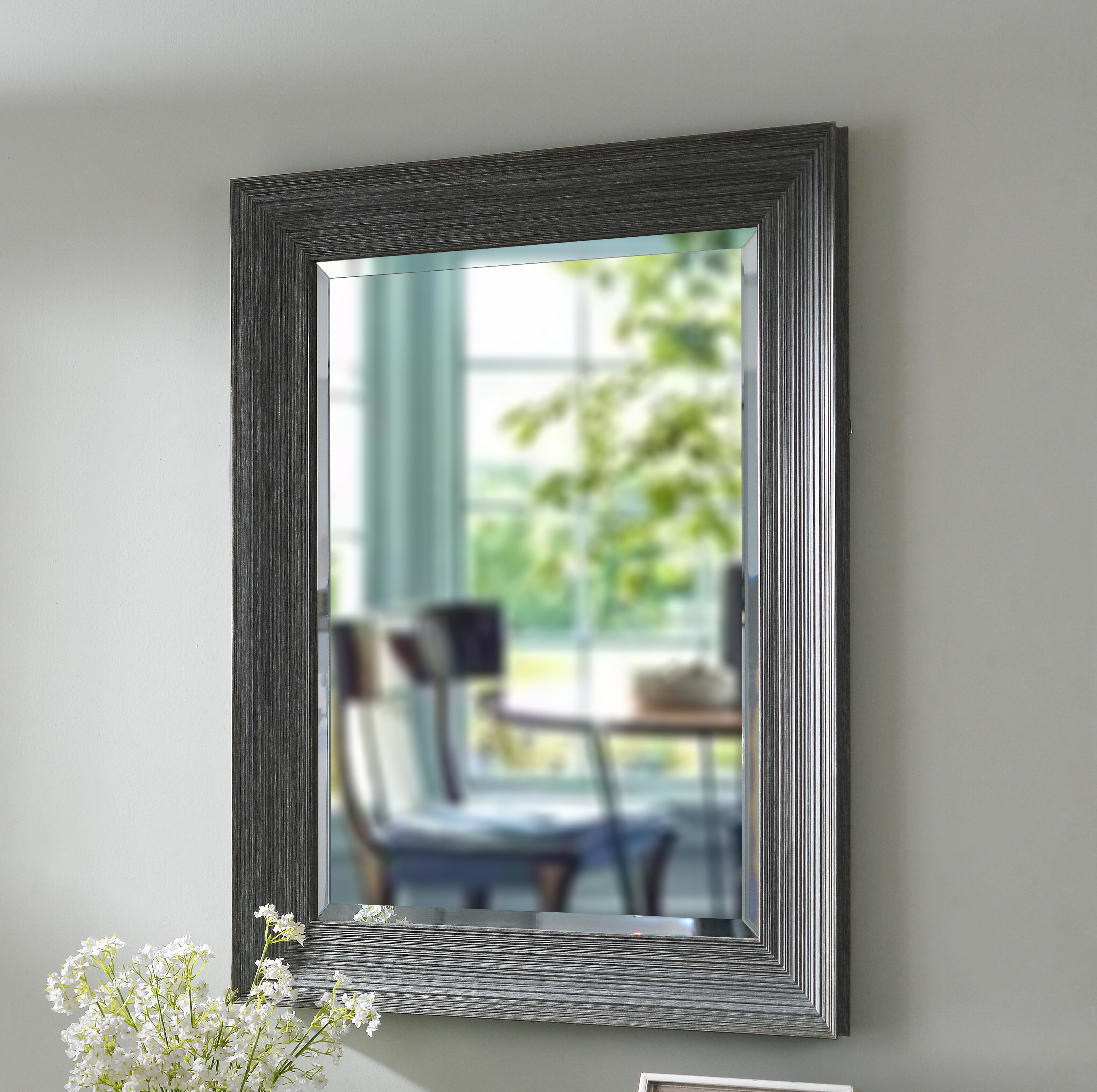 Beveled Wall Mirrors Intended For Fashionable Schutz Beveled Wall Mirror (View 5 of 20)