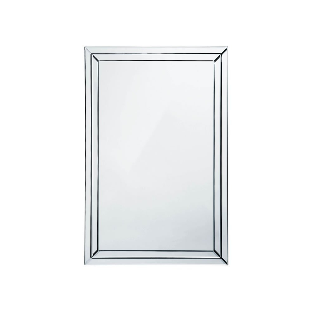Bevelled Wall Mirrors Within Preferred 60 X 90cm Bevelled Clear Edge Wall Mirror (View 7 of 20)
