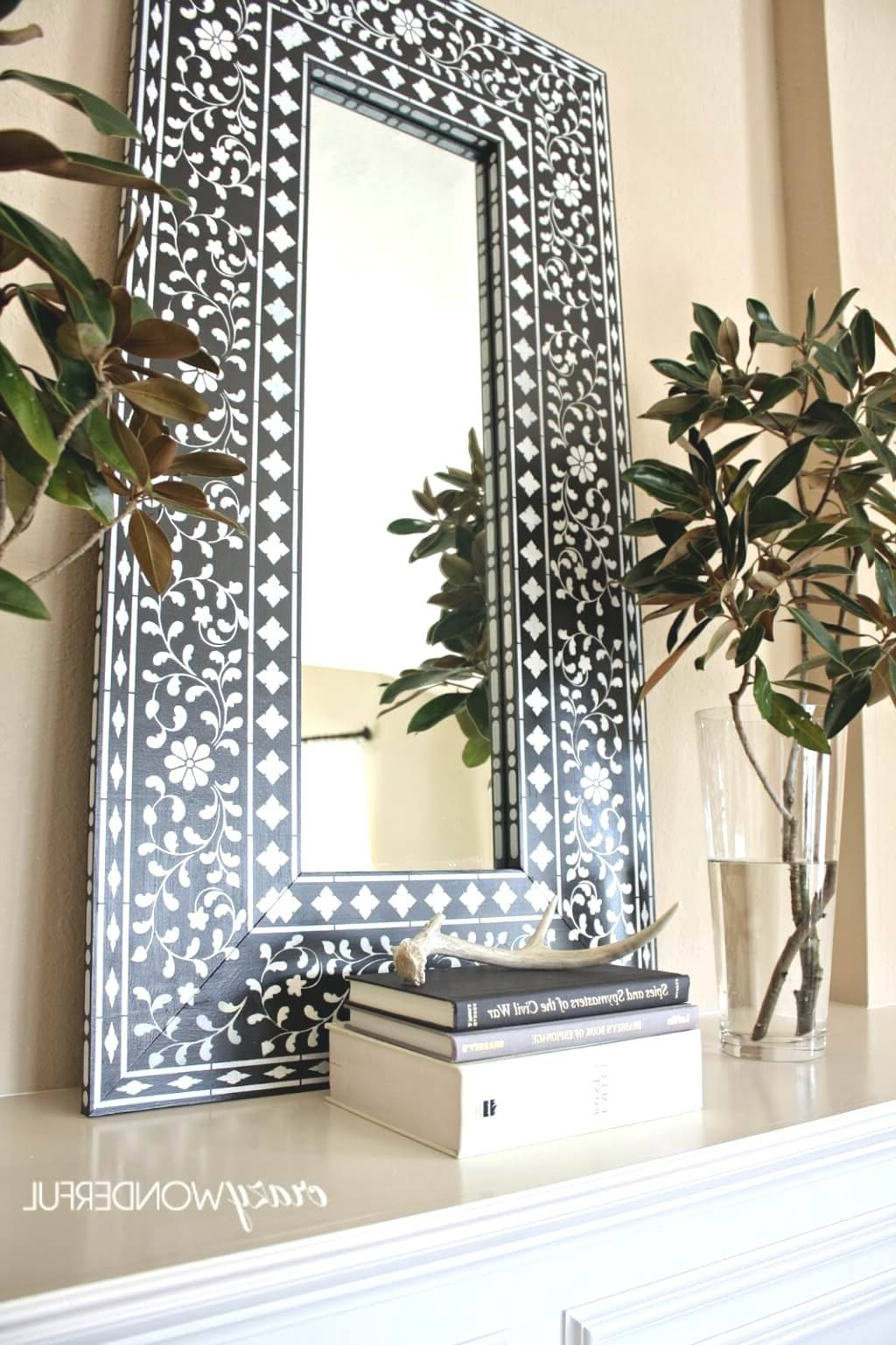 Big Decorative Wall Mirrors With Latest Drop Dead Gorgeous Oversized Round Wall Mirrors Decorating Cool (View 9 of 20)
