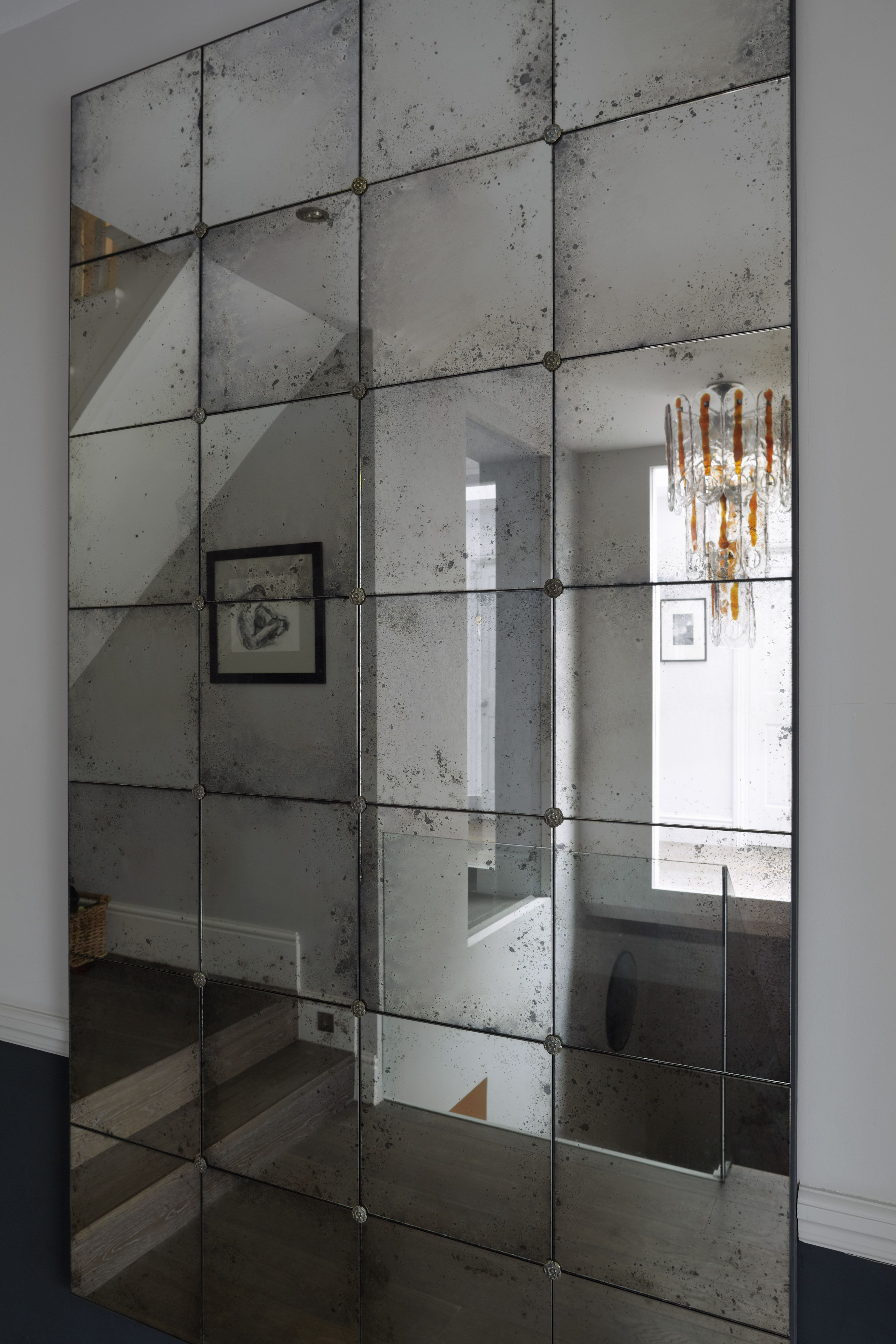 Big Frameless Wall Mirrors For Fashionable Rough Edges Panelled Lola Frameless Ready To Hang Mirrorrough (View 16 of 20)