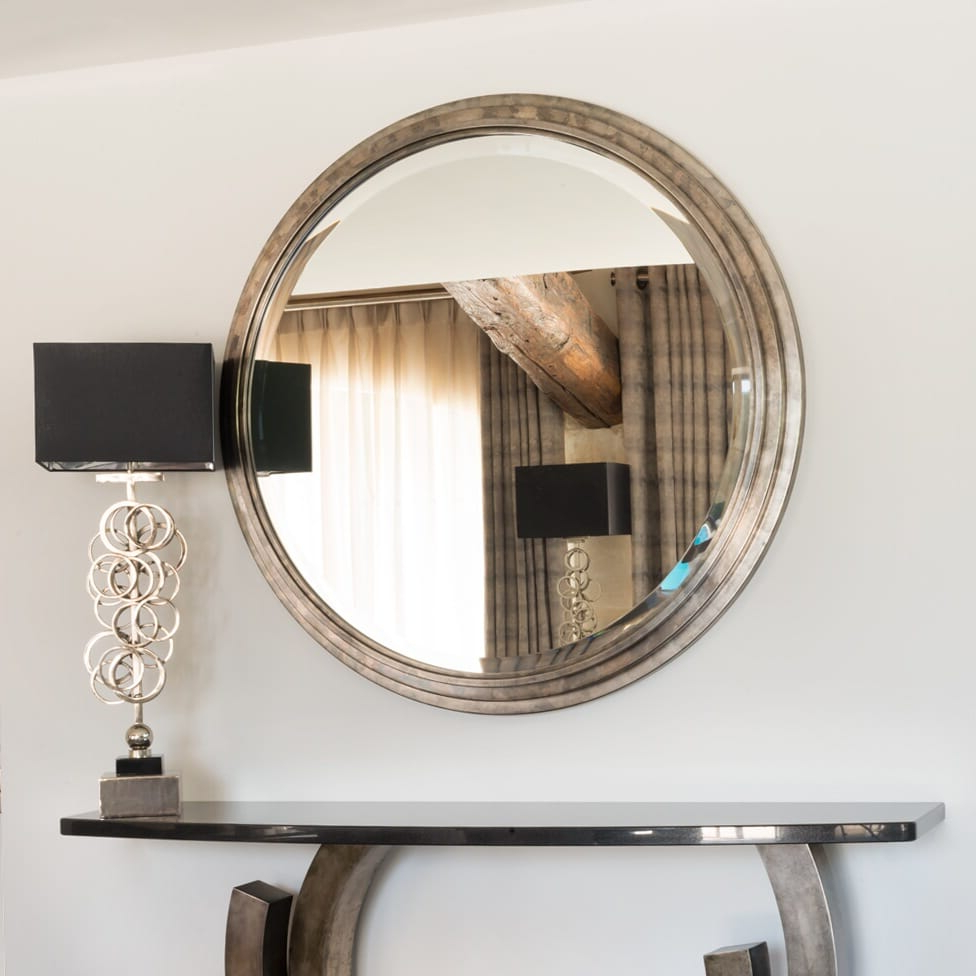 Big Round Wall Mirrors Throughout Most Recent Exclusive Large Round Wall Mirror (View 13 of 20)