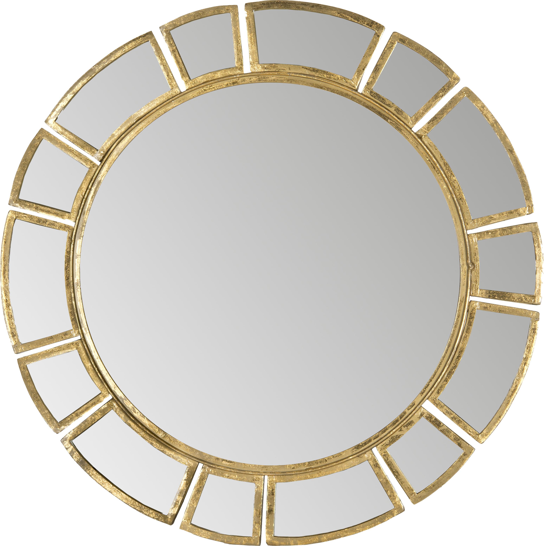 Birksgate Round Antique Gold Patina Sunburst Wall Mirror For Famous Birksgate Sunburst Accent Mirrors (View 9 of 20)