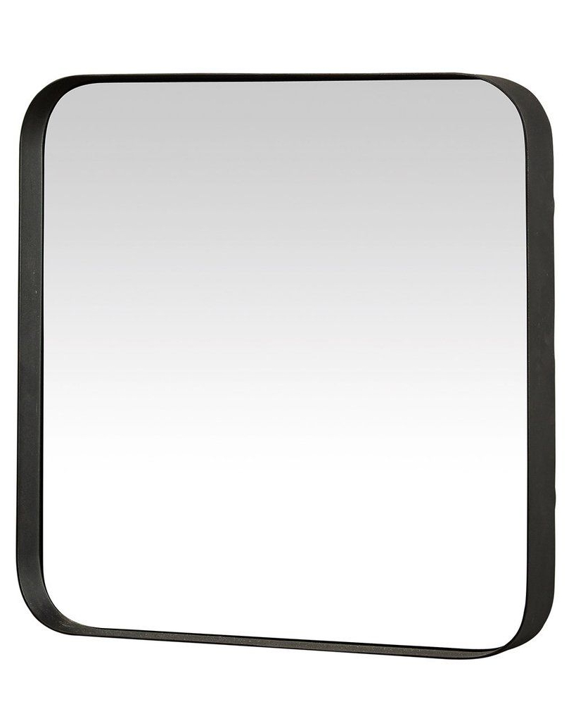 Black Frame Wall Mirrors In Well Known Kelly – Square Wall Mirror (black Metal Frame, H:40cm) In (View 6 of 20)