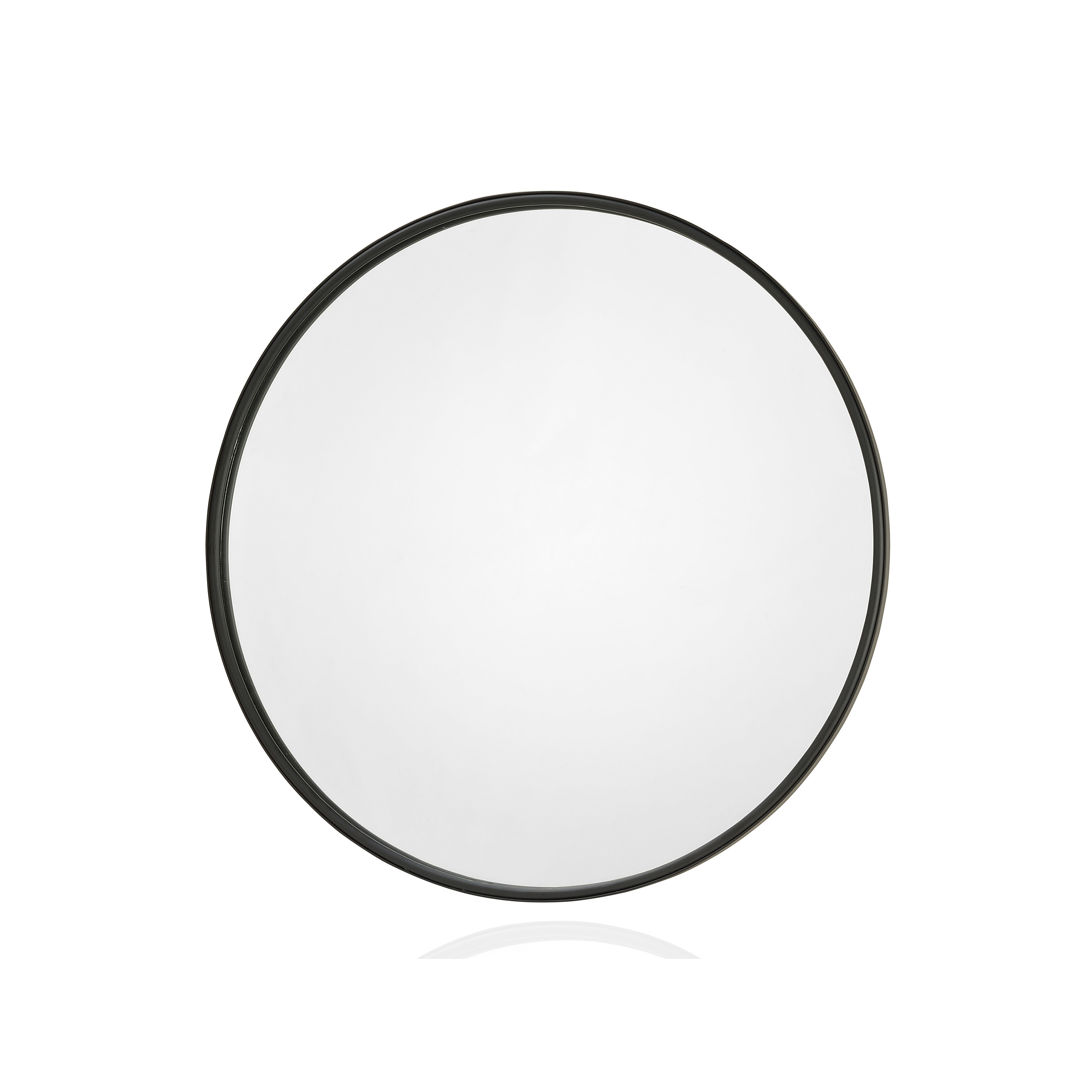 Black Round Wall Mirrors Intended For Trendy Round Wall Mirror (View 19 of 20)