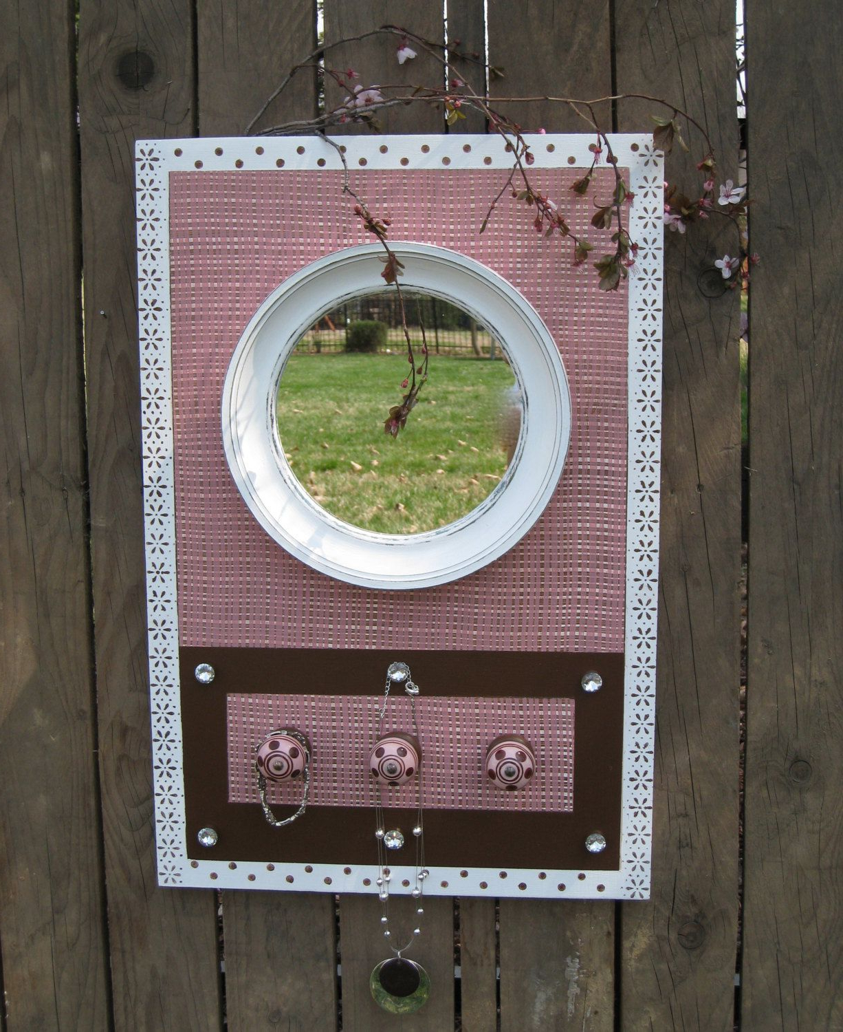 Board And Wood Crafts Regarding Girls Pink Wall Mirrors (View 17 of 20)