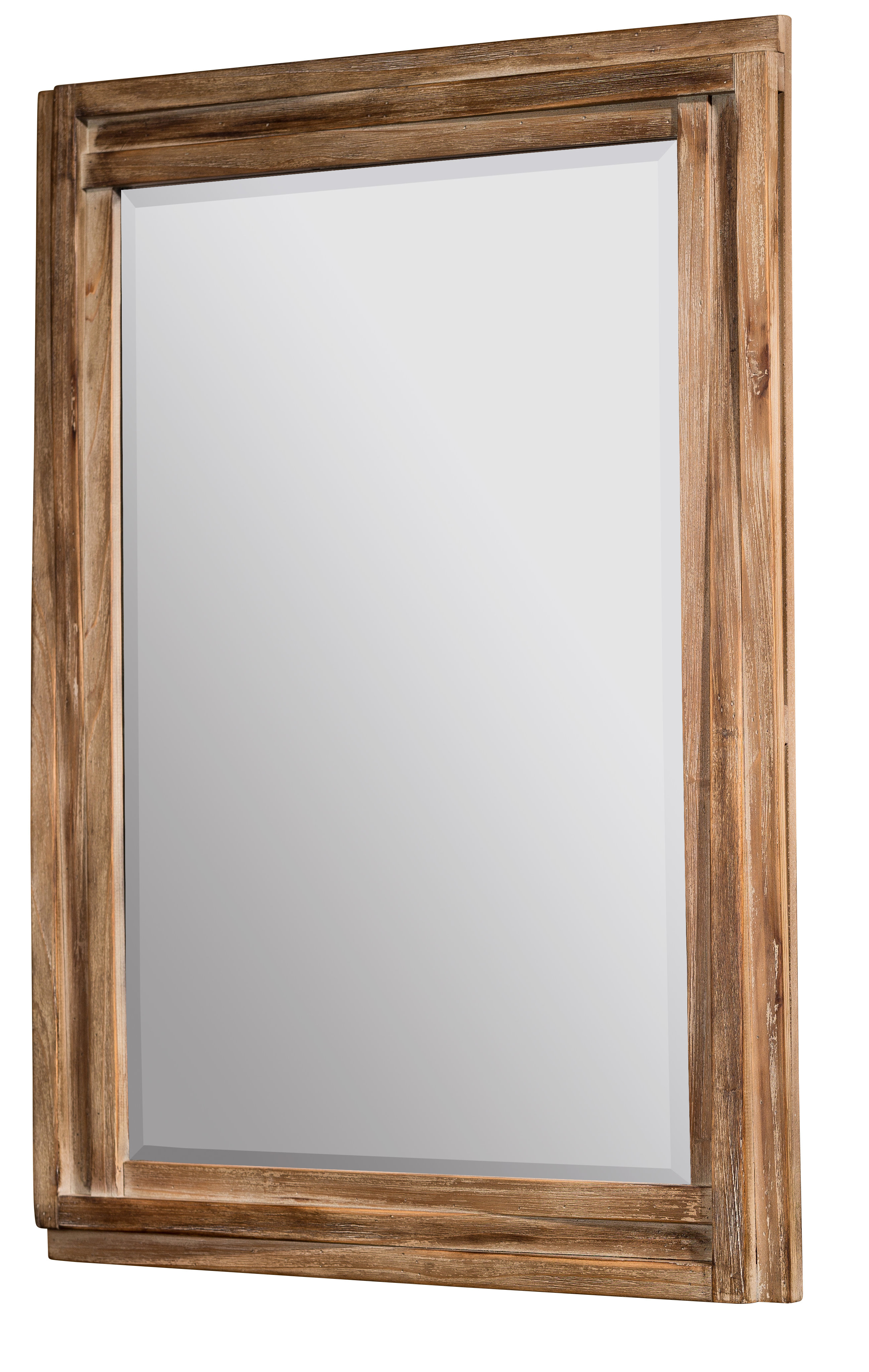 Booth Reclaimed Wall Mirrors Accent For Widely Used Jaylene Wall Mirror (View 11 of 20)