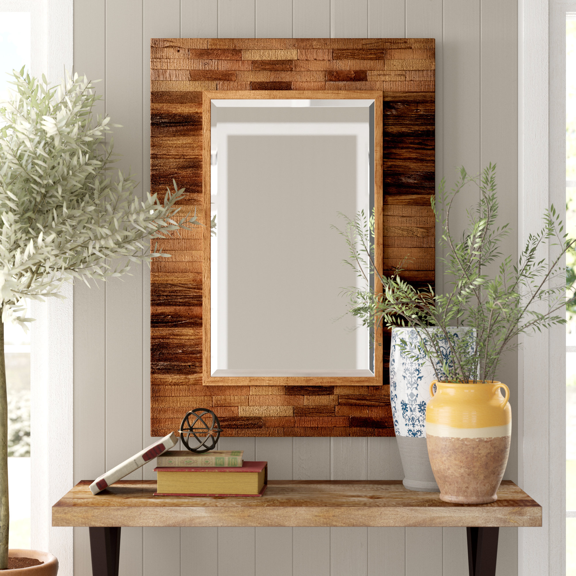 Booth Reclaimed Wall Mirrors Accent With Most Popular Booth Reclaimed Wall Mirror Accent (View 3 of 20)