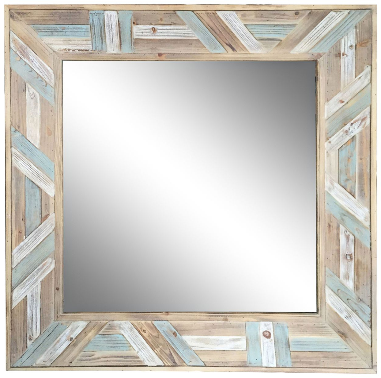 Booth Reclaimed Wall Mirrors Accent With Trendy Wood Wall Mirrors Reclaimed Wood Thompson Accent Mirror Birch Lane (View 12 of 20)