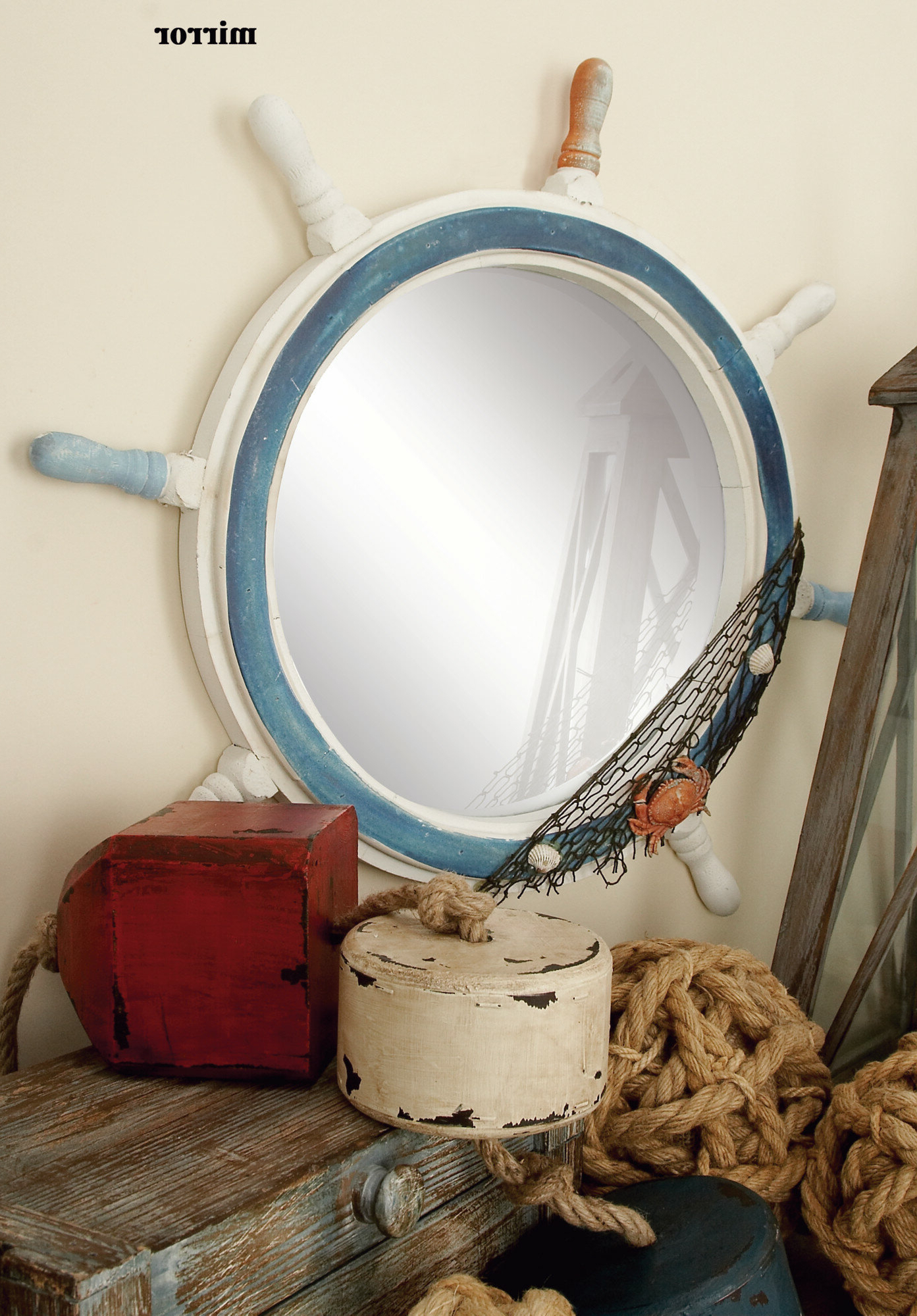 Boscawen Coastal Accent Mirror Within Most Recently Released Mcnary Accent Mirrors (View 2 of 20)