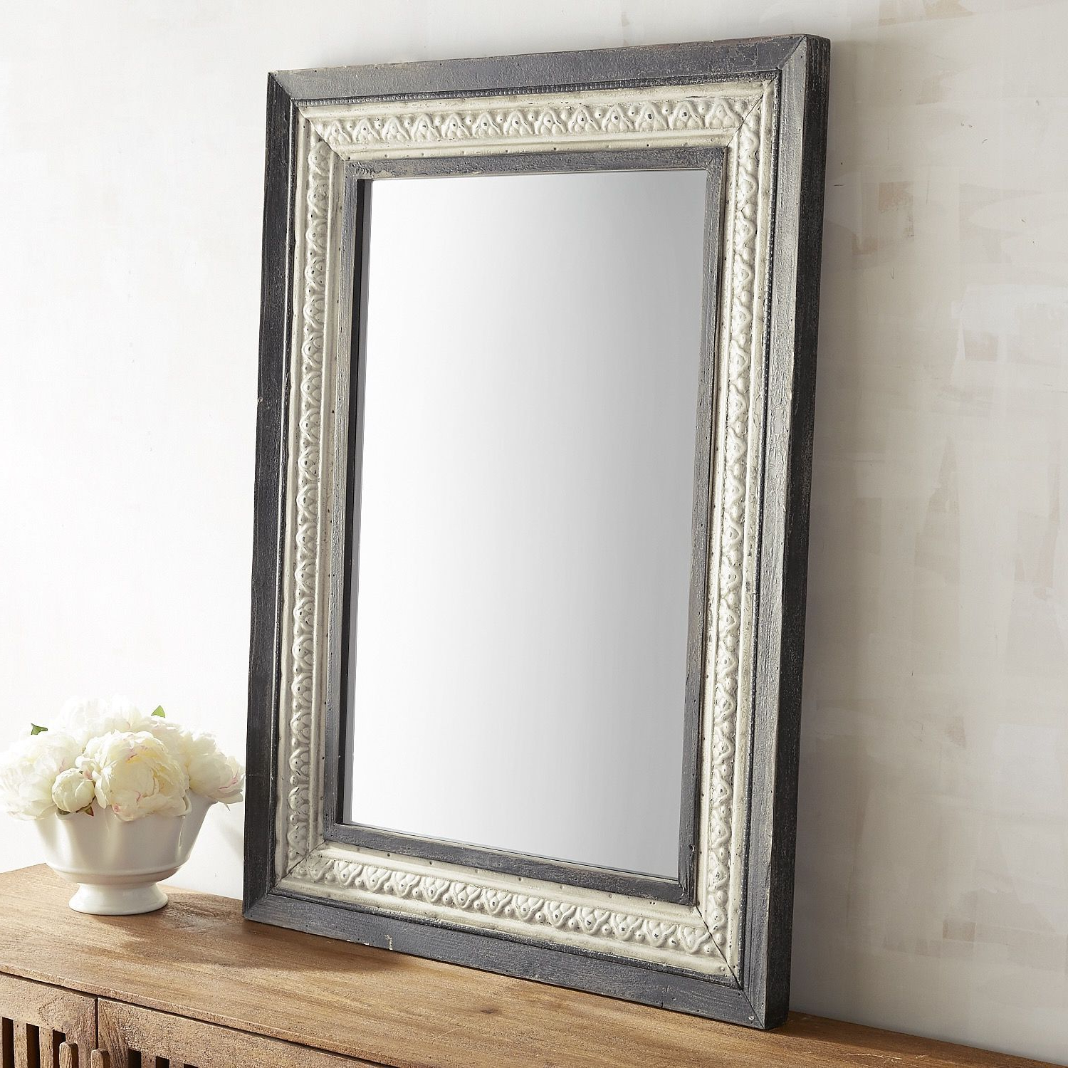 Boyers Wall Mirrors For Well Known Renzo Noir Mirror In (View 10 of 20)